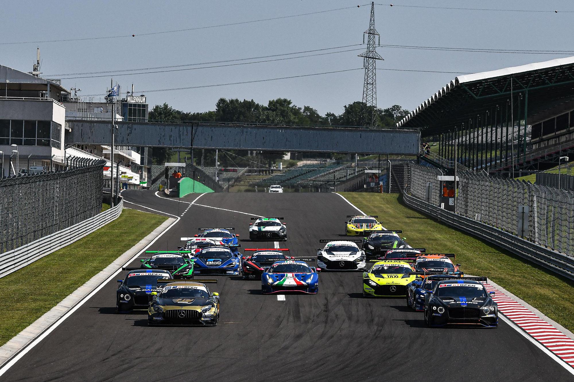 GT Open mit dritter Saisonstation auf dem Hungaroring
