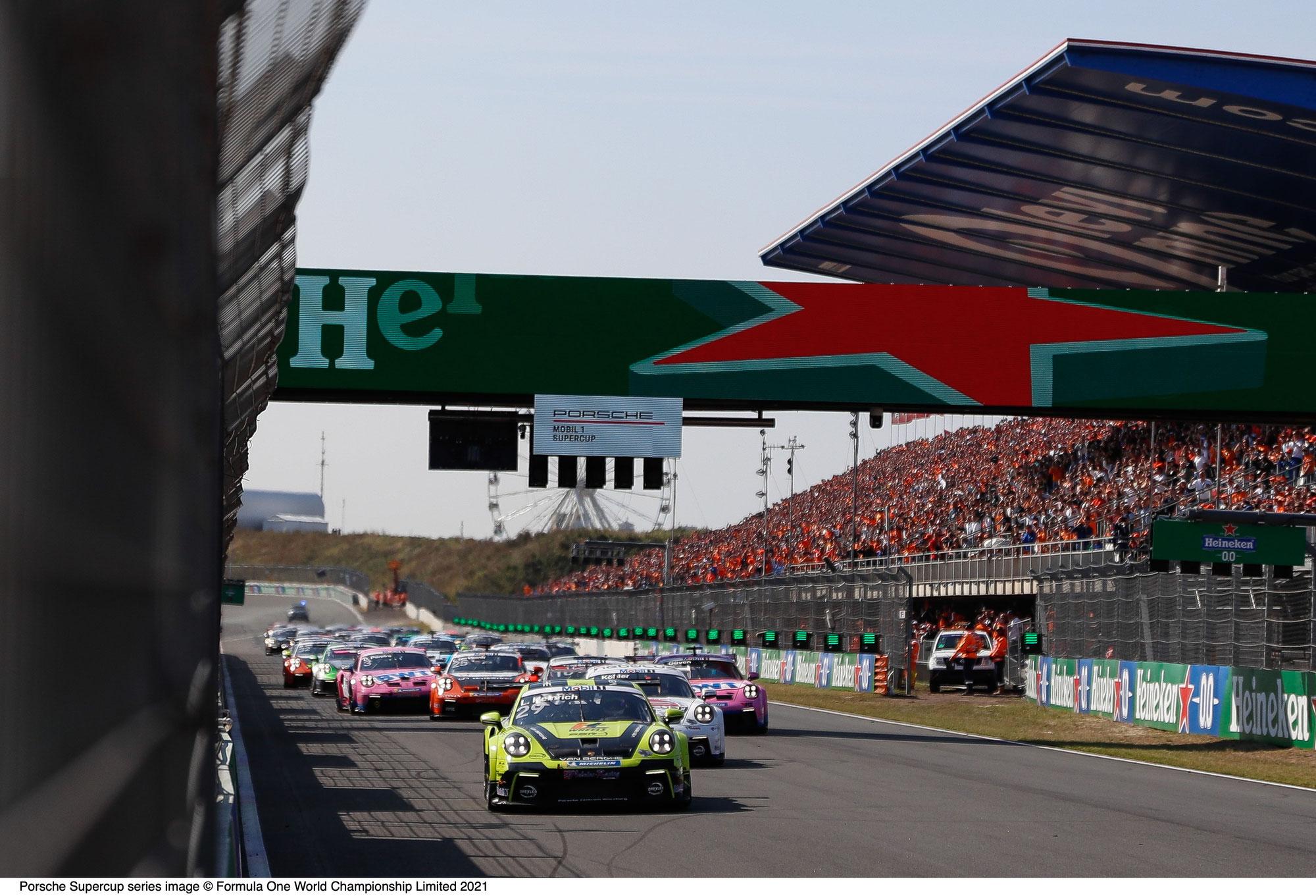 Porsche Mobil 1 Supercup bestreitet beim Finale gleich zwei Rennen