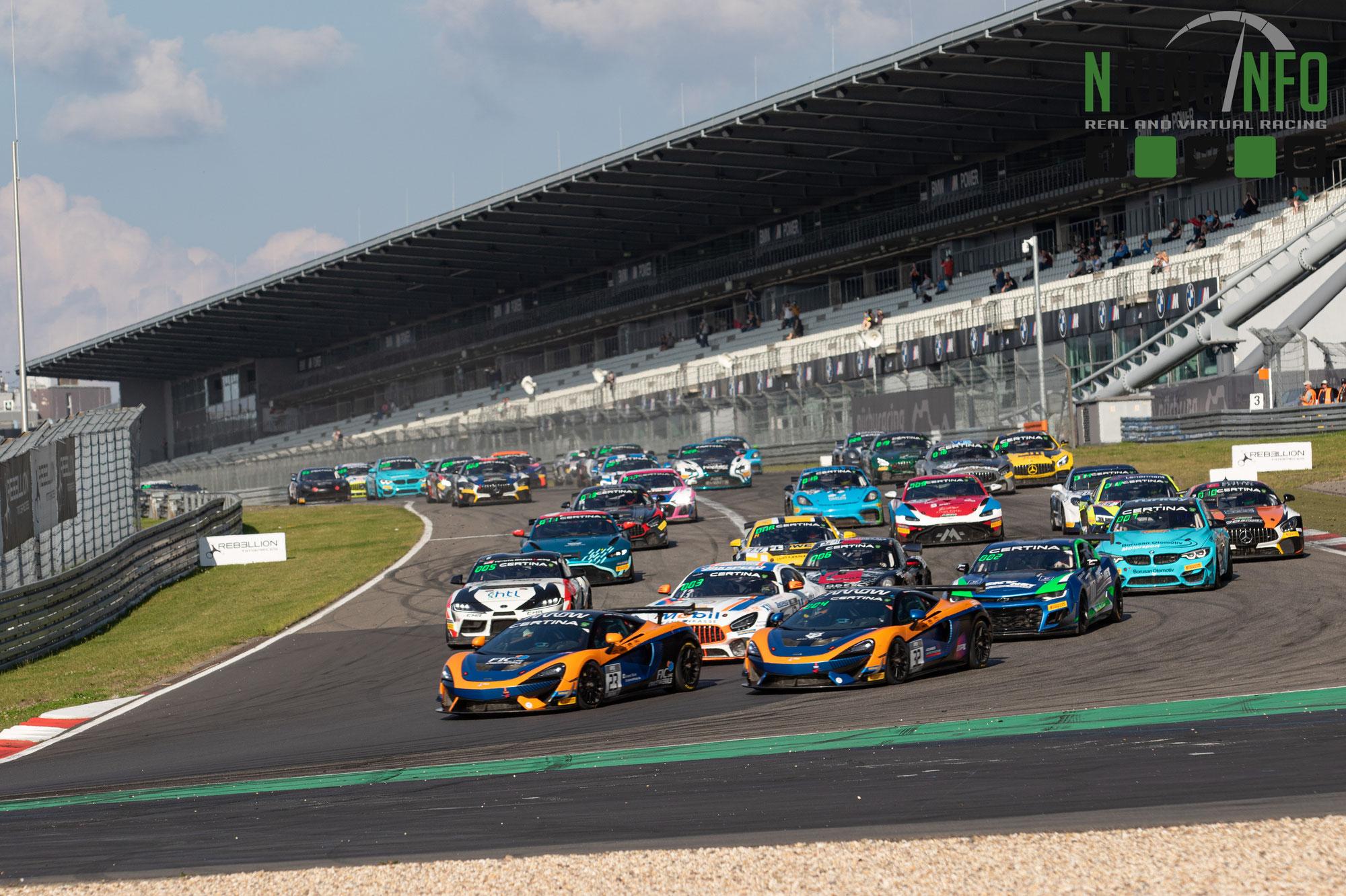 GT4 European Series bereit für das Saisonfinale 2021 in Barcelona