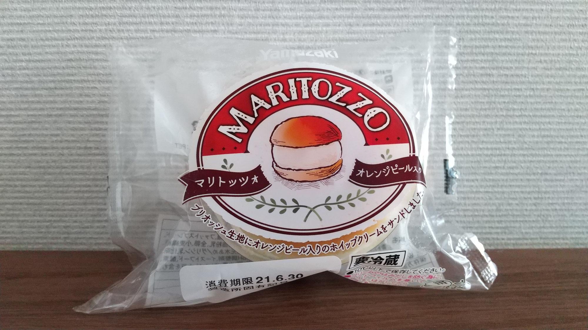 山崎製パン株式会社さんの「MARITOZZO(マリトッツォ オレンジピール入り)」
