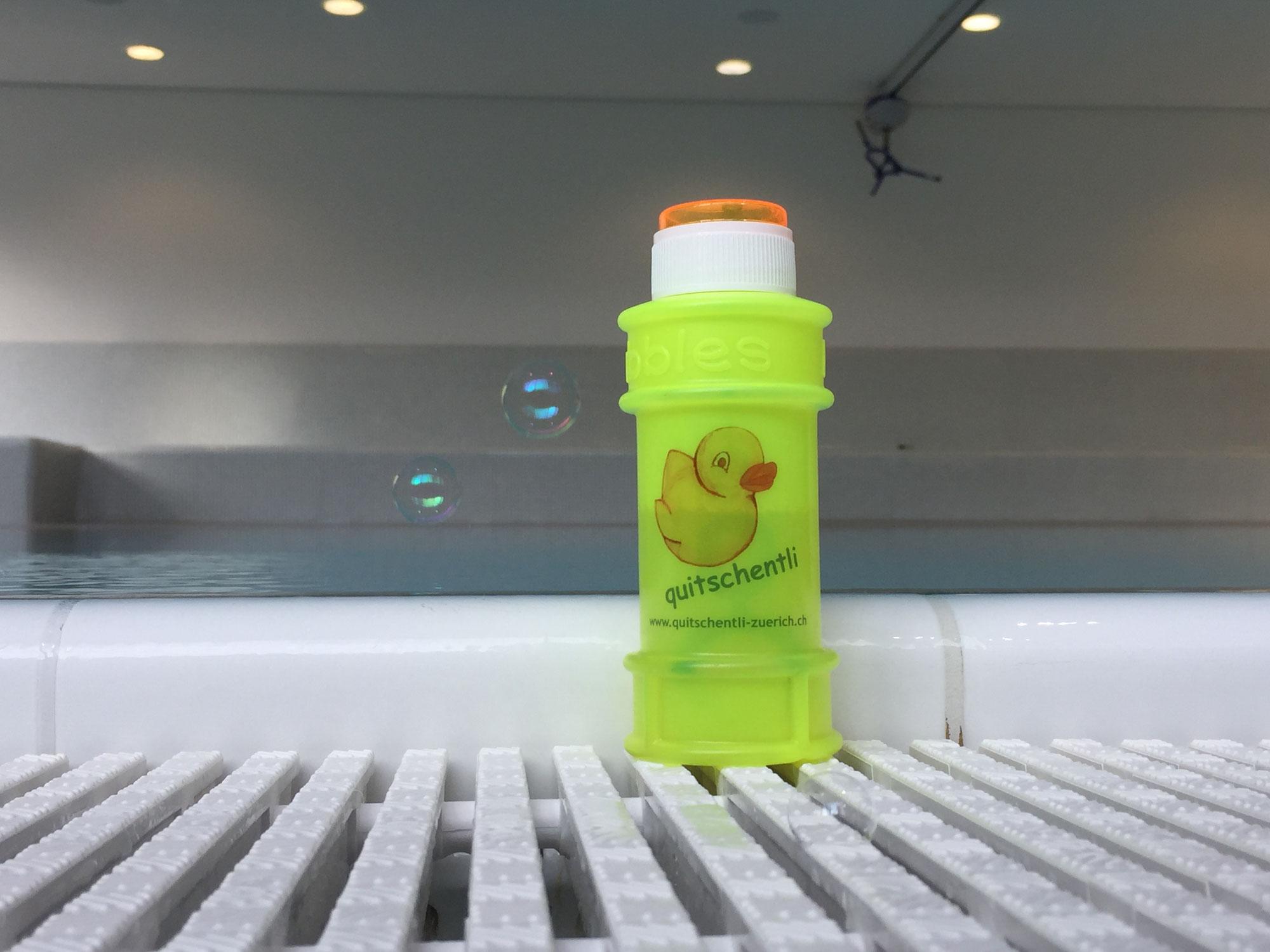 Seifenblasen-Spass