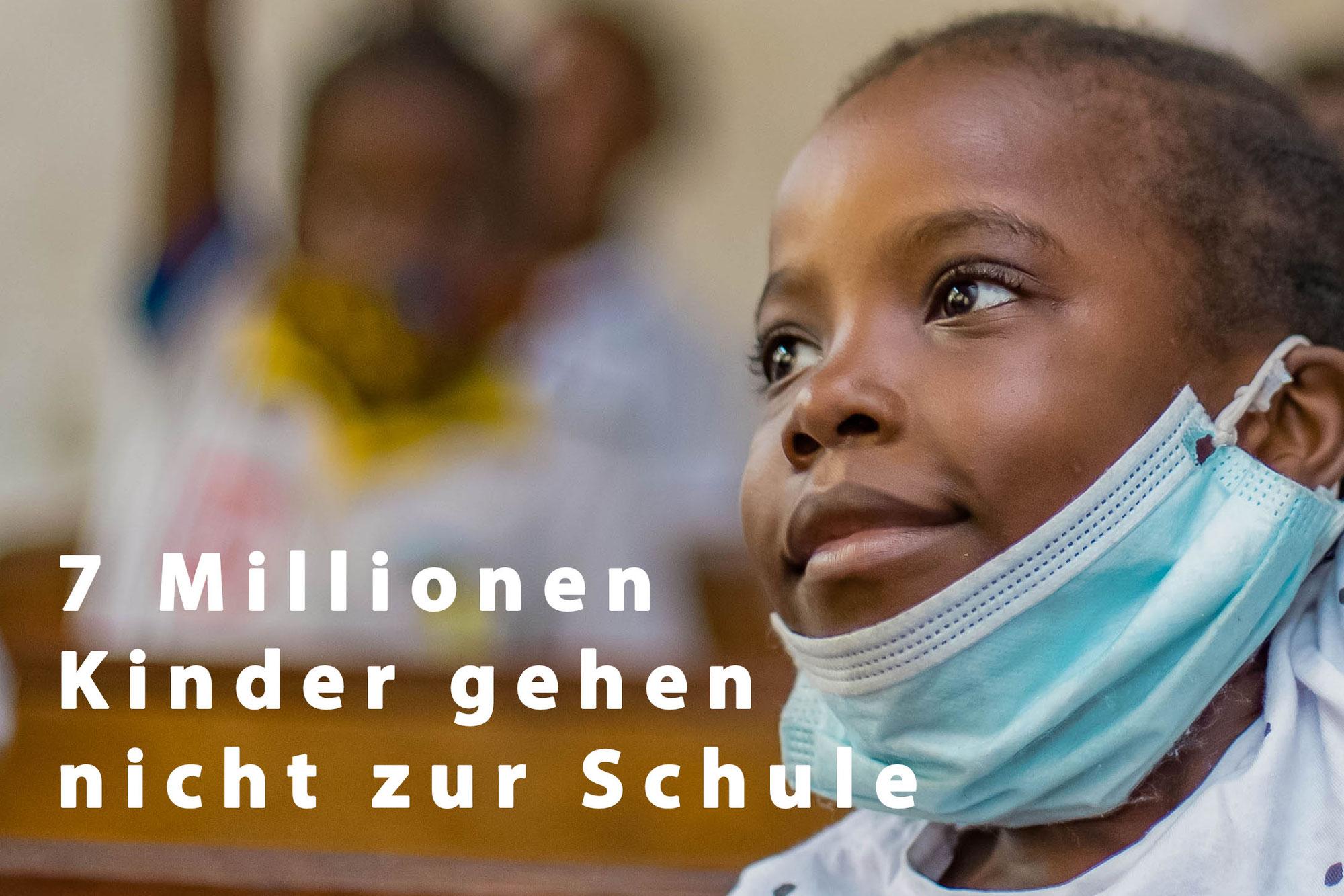 7 Millionen Kinder gehen nicht zur Schule