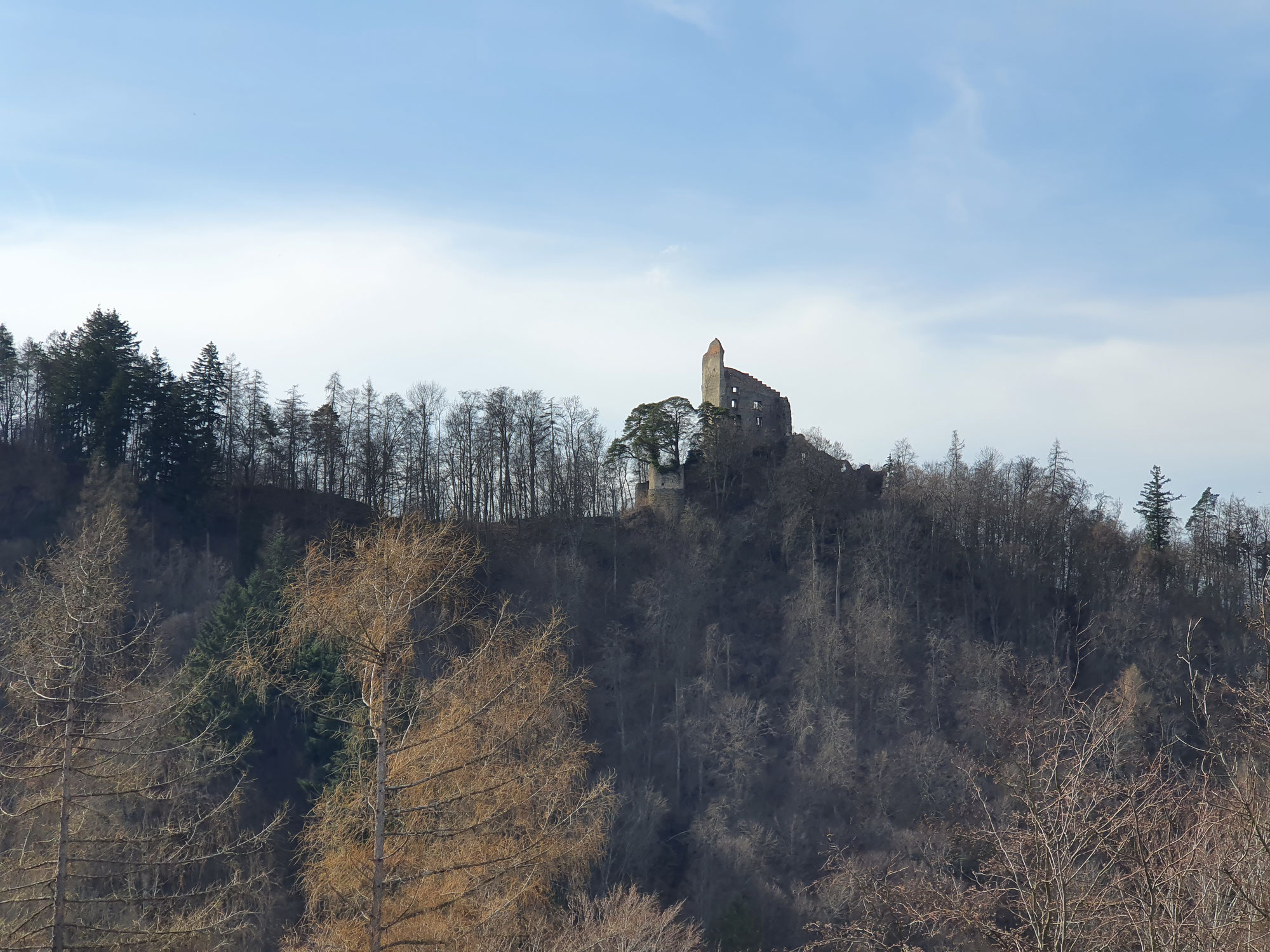 Wanderung Kapelle und Ruine vom Frauenberg