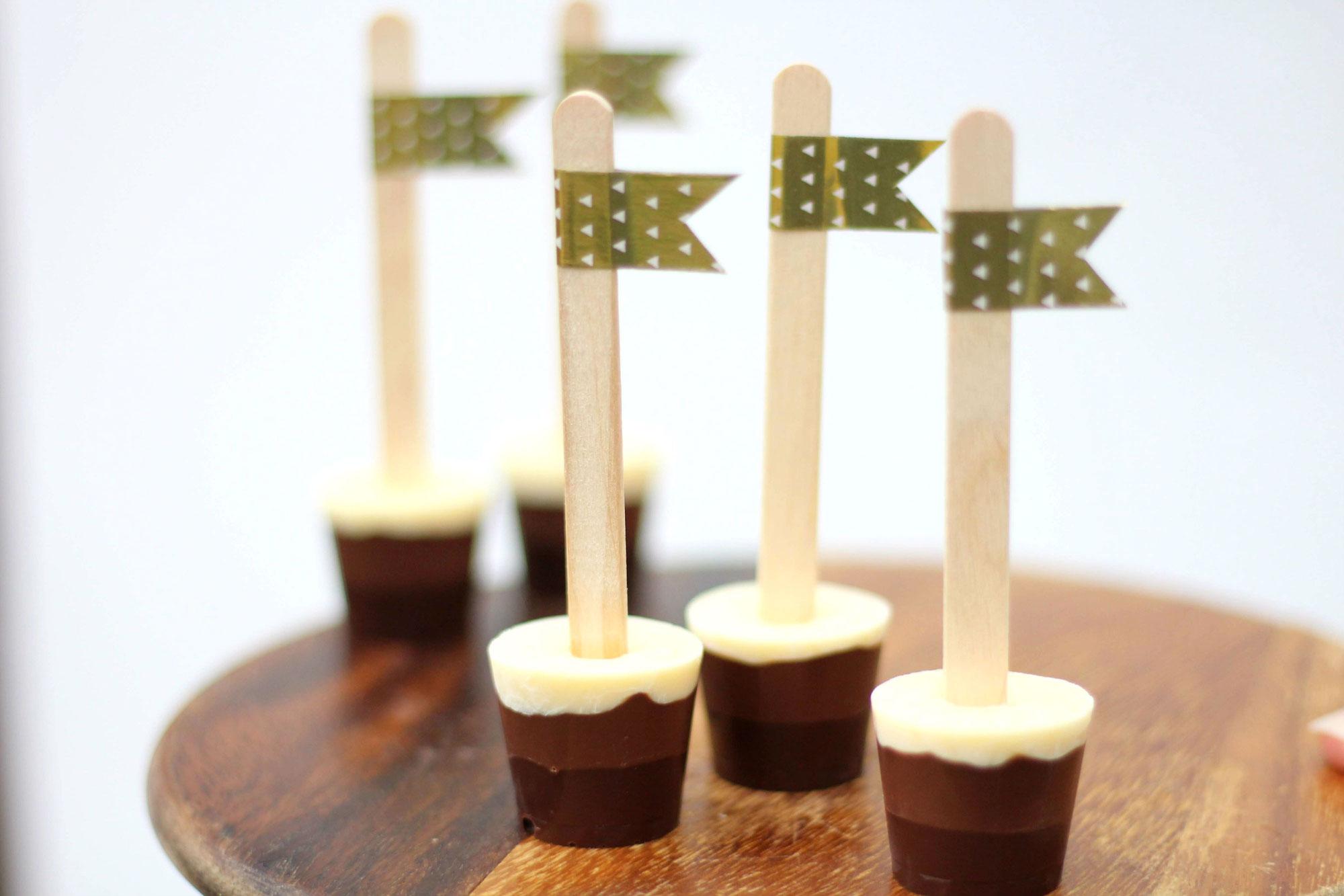 22. Türchen Schokolade am Stiel