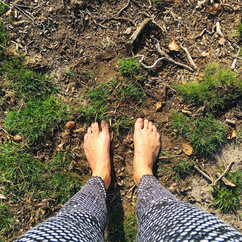 Echte blote voeten!