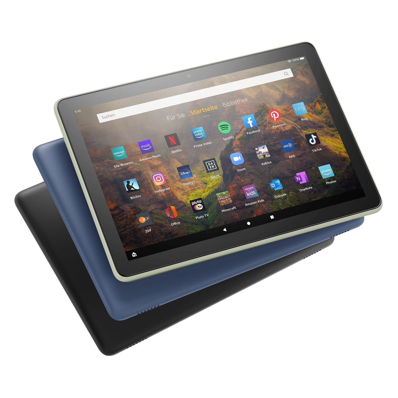 Unterhalten, in Verbindung und produktiv bleiben mit den neuen Fire HD 10 und Fire HD 10 Plus