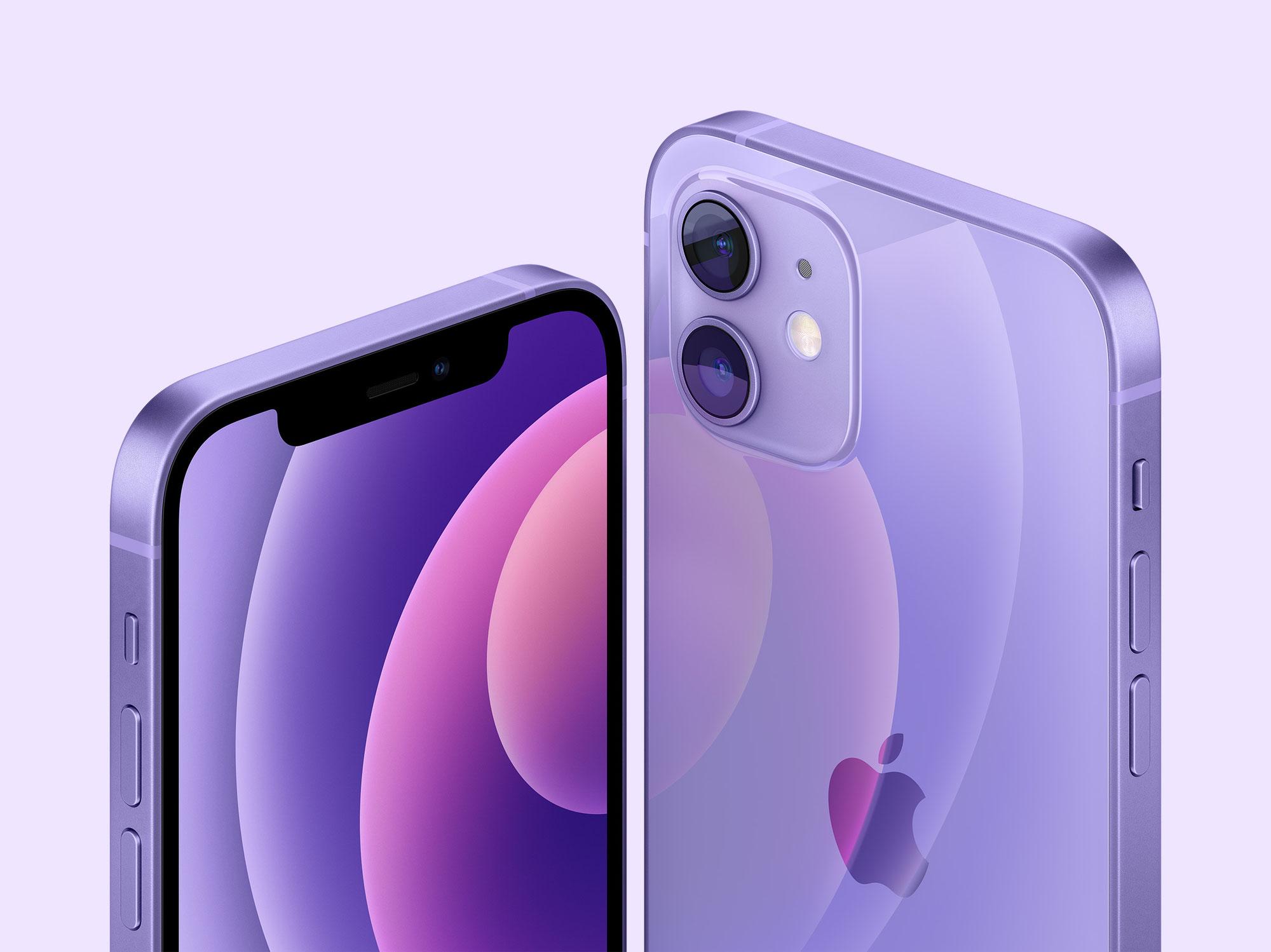 Apple hat ein neues, atemberaubendes violettes Finish für iPhone 12 und iPhone 12 mini vorgestellt.