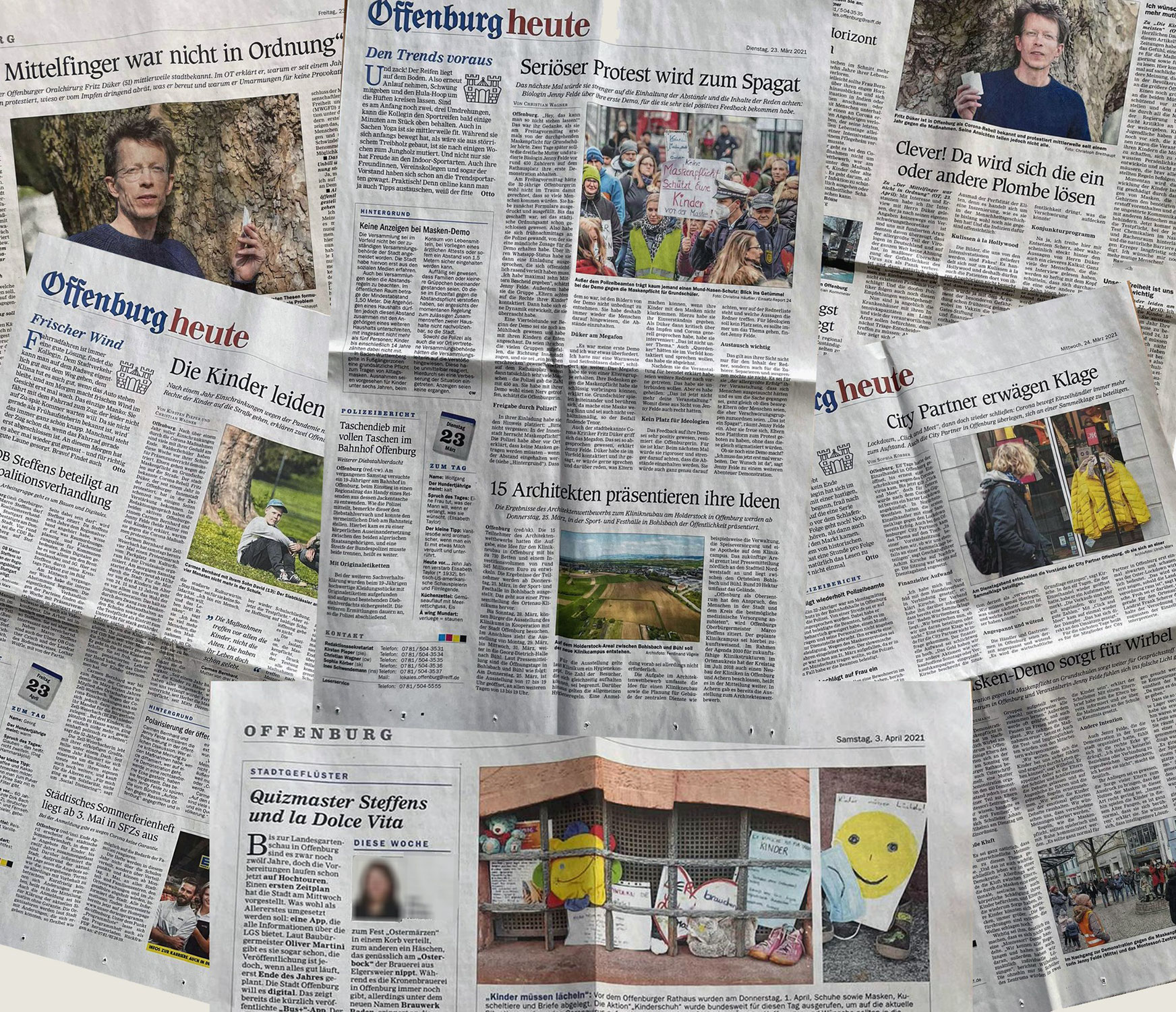 Leserbrief an das Offenburger Tageblatt