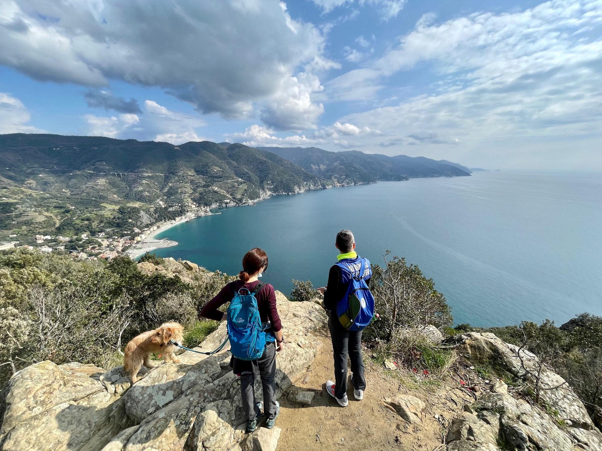 Sabato, 13 marzo: Il promontorio di Punta Mesco - panorami tra Levanto e le Cinque Terre