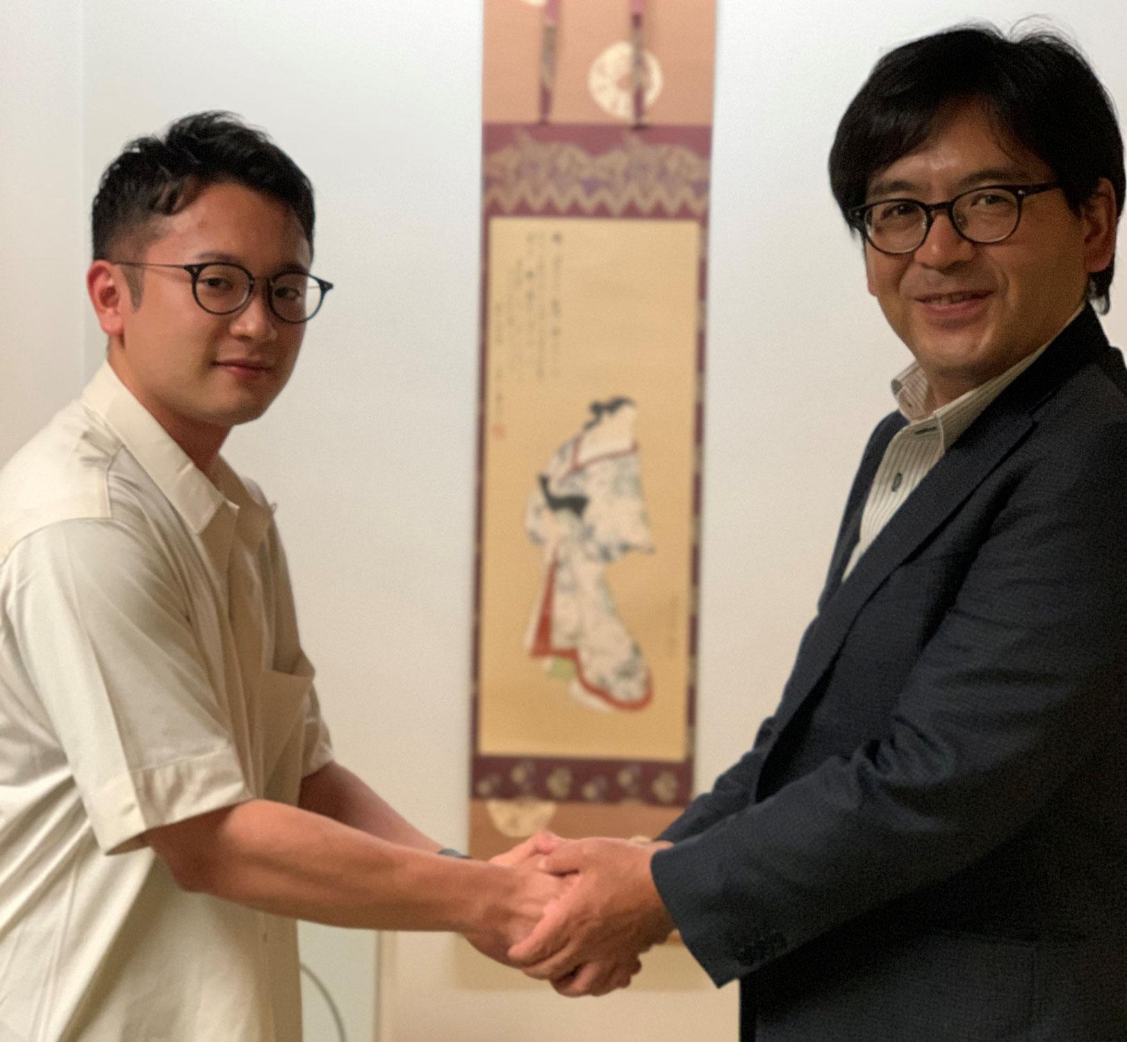 久米翔弥先生、入局決定!
