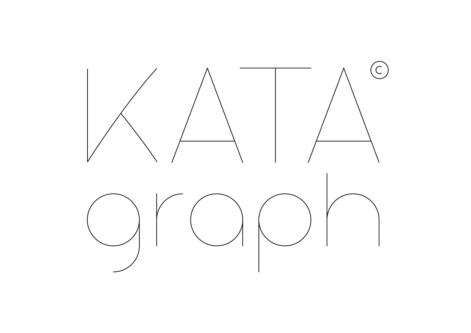 We're designing a new font: KATA Graph©