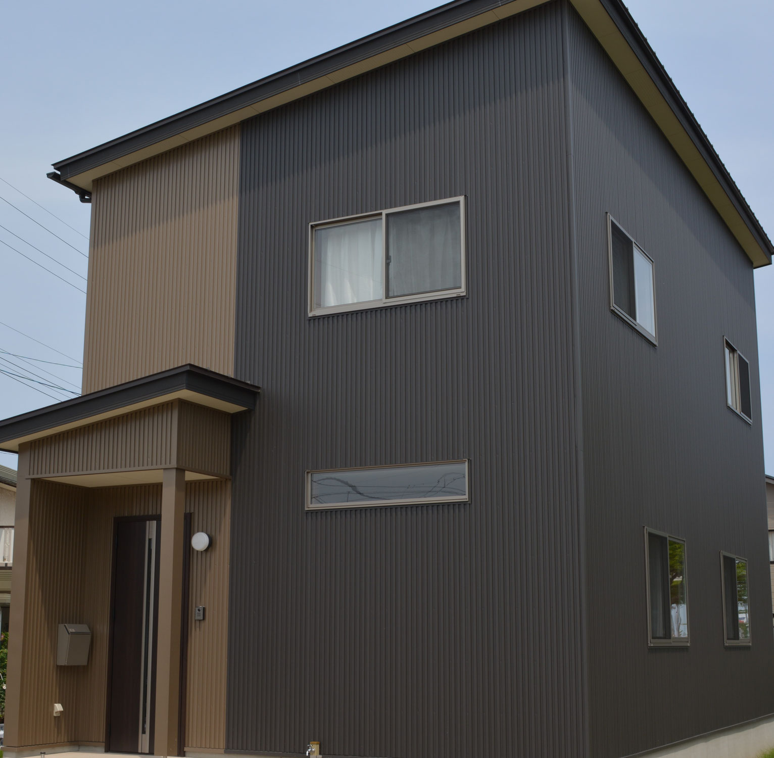 白山市H様邸の新築完成