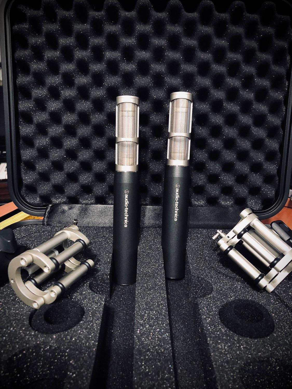 New drum microphones from Audio-Technica