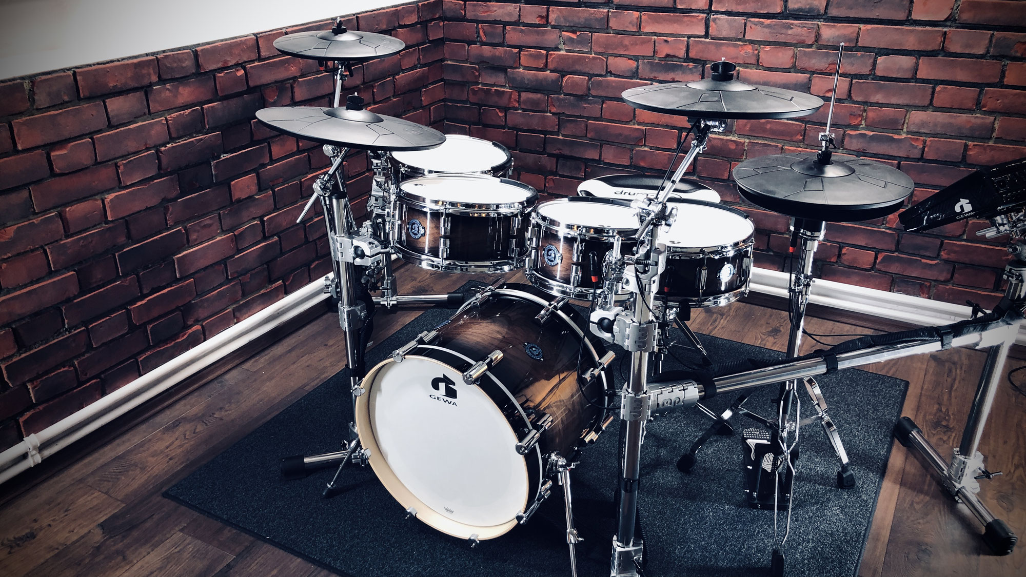 GEWA G9 electronic drums demo video production