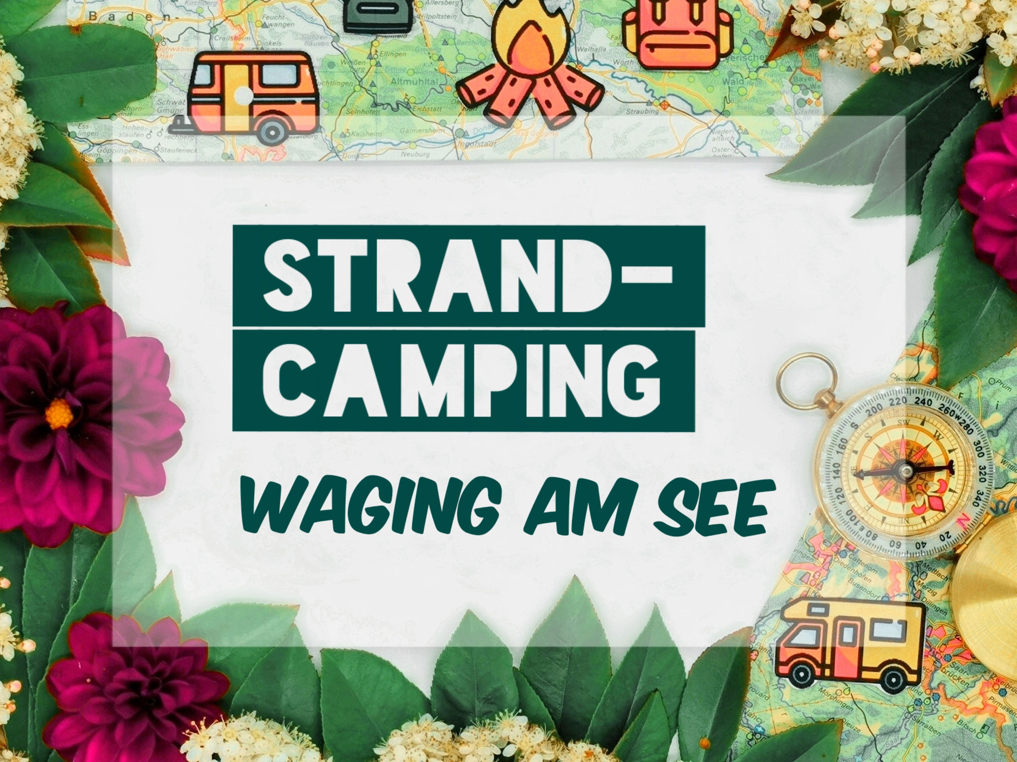 Strandcamping in Waging am See