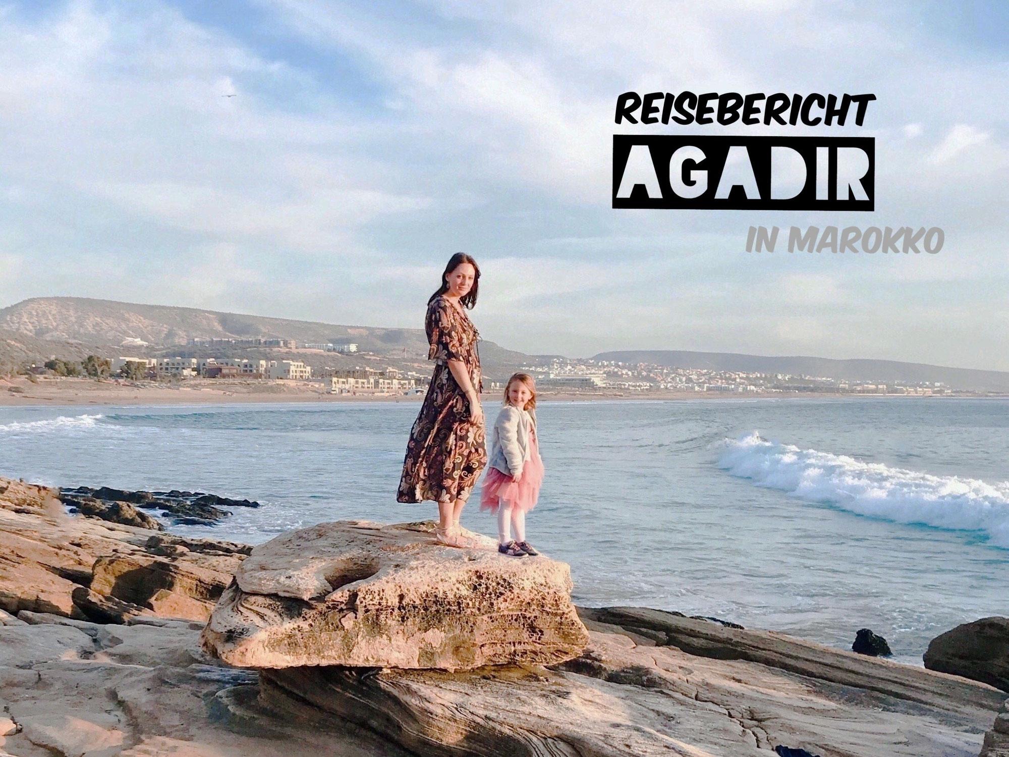 Urlaub in Agadir, Marokko: der Orient, Kamele, Wüste und Meer