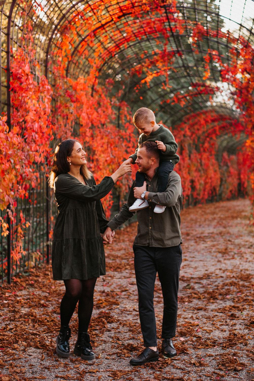 Familienfotos im Schwetzinger Schlosspark – Teil 2