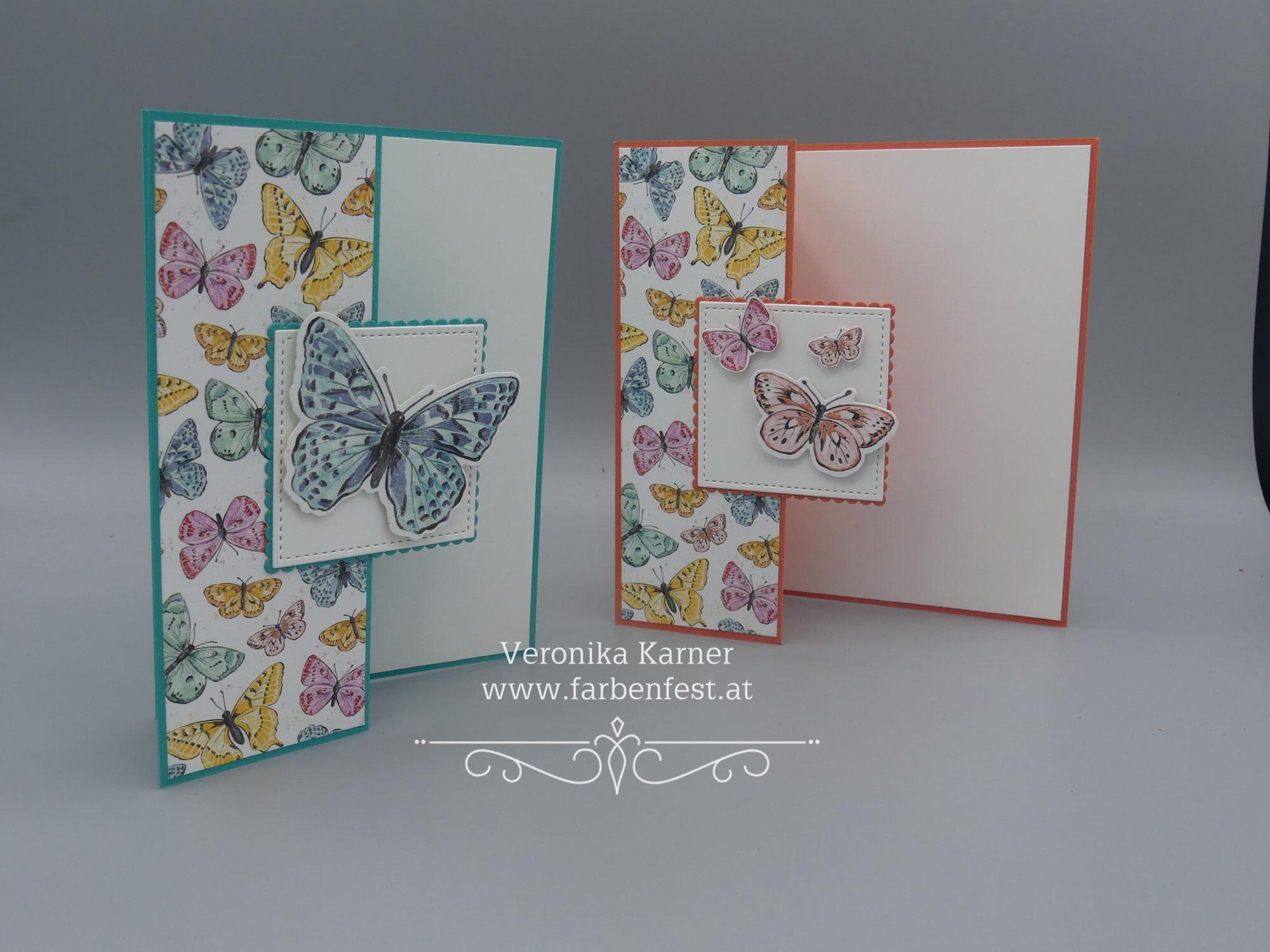 Festplattenfundstücke -> Fun-Fold-Karte Butterfly Brilliance/Fabelhafte Falter