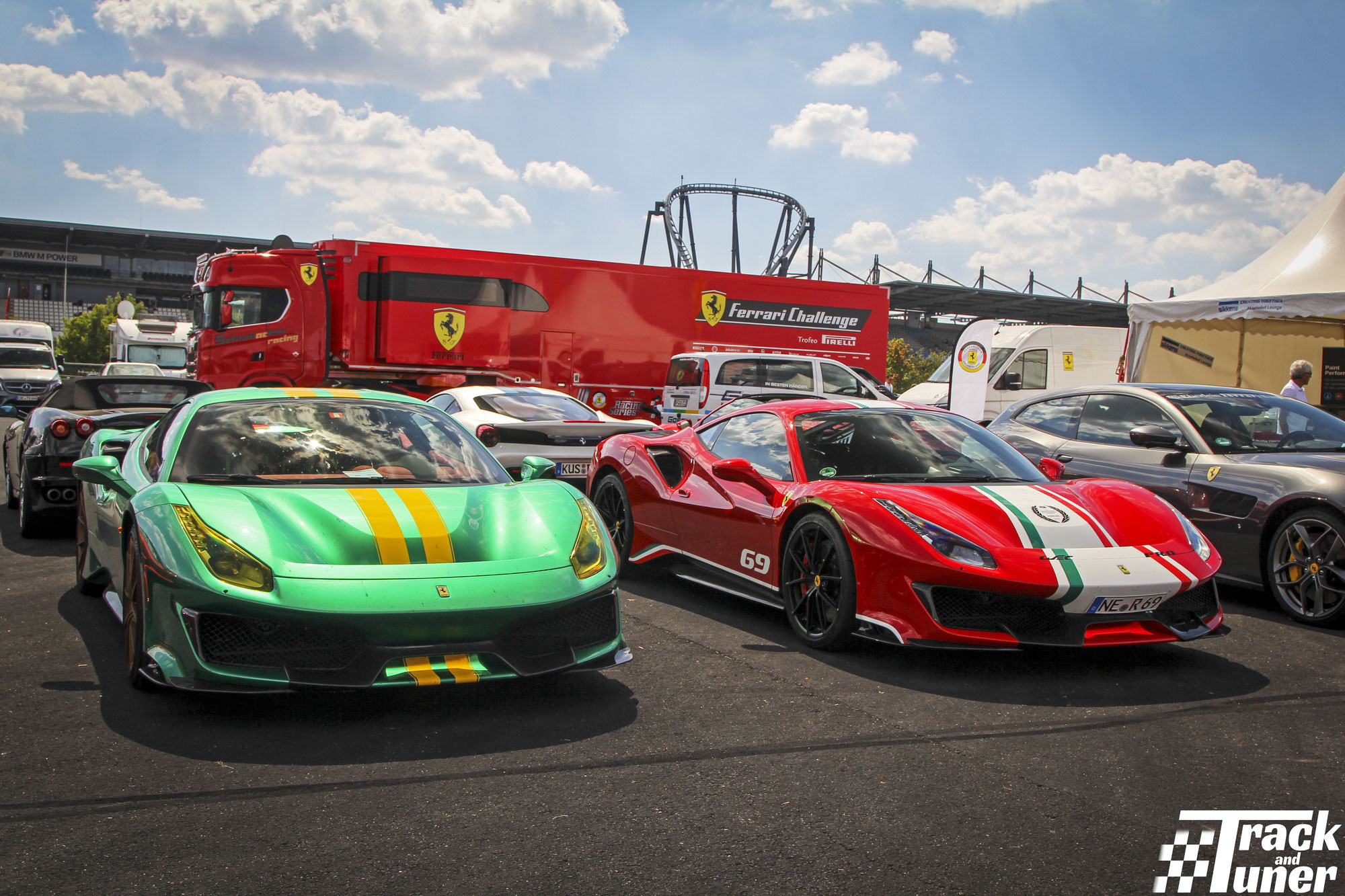The AvD Oldtimer GP 2020: The Ferrari paddock