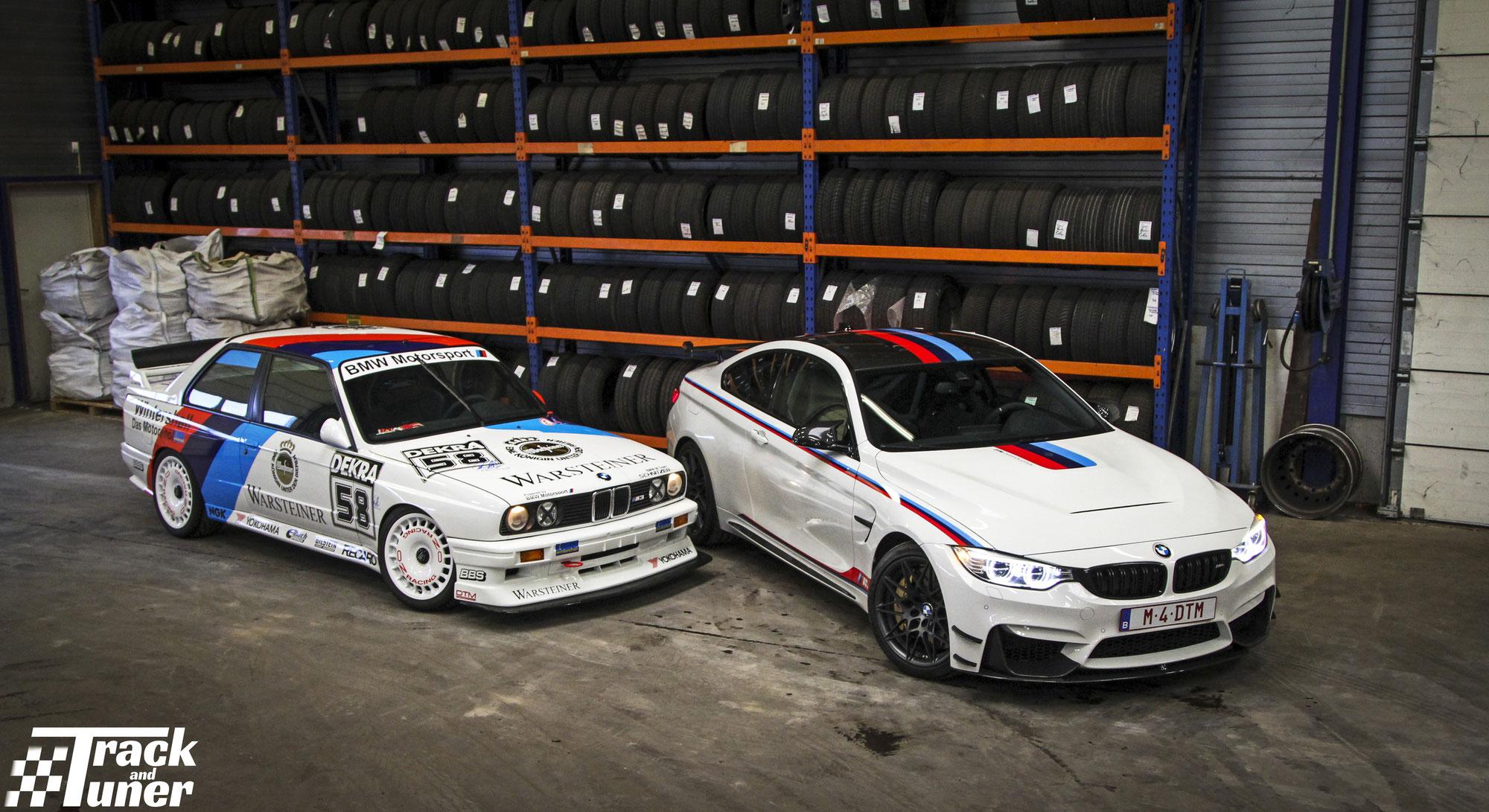 WeDrive: BMW M3 e30 DTM vs BMW M4 DTM