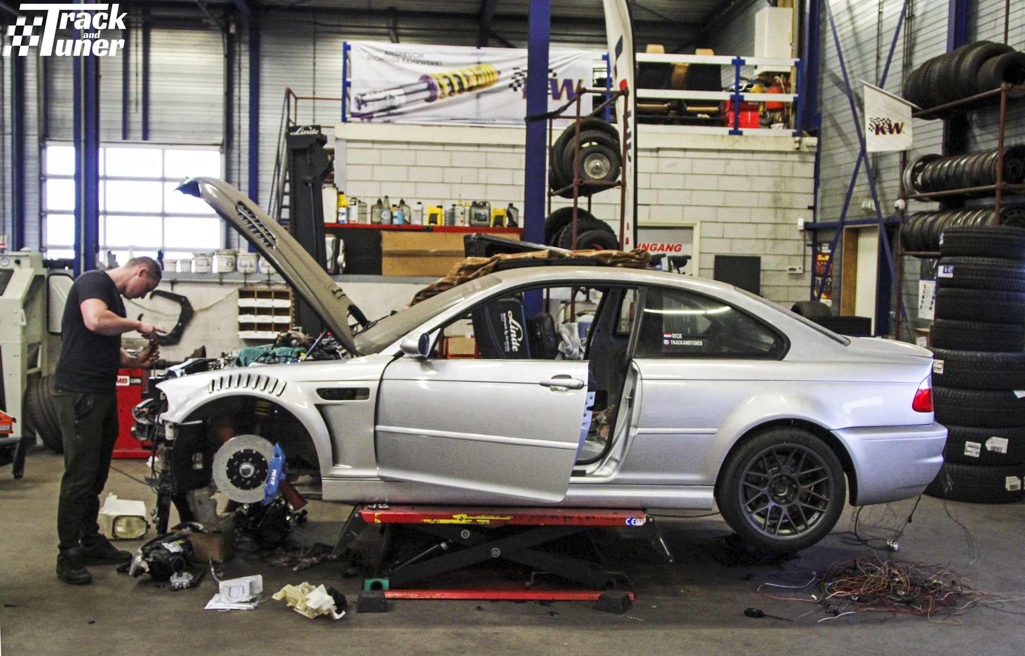 Project Car M3 e46 Ringtool 2021: New Problems and more carbon?