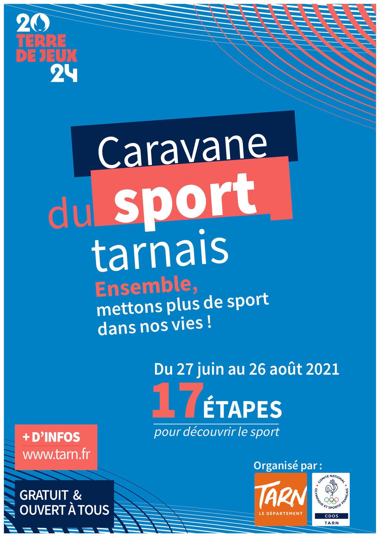 Caravane du Sport Tarnais : demandez le programme !