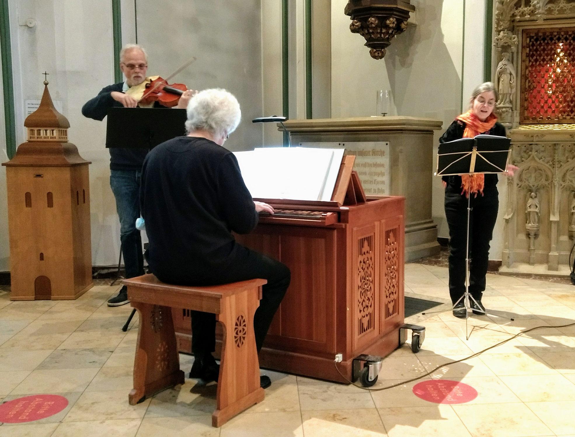 Musikalische Andacht mit Fastenpredigt