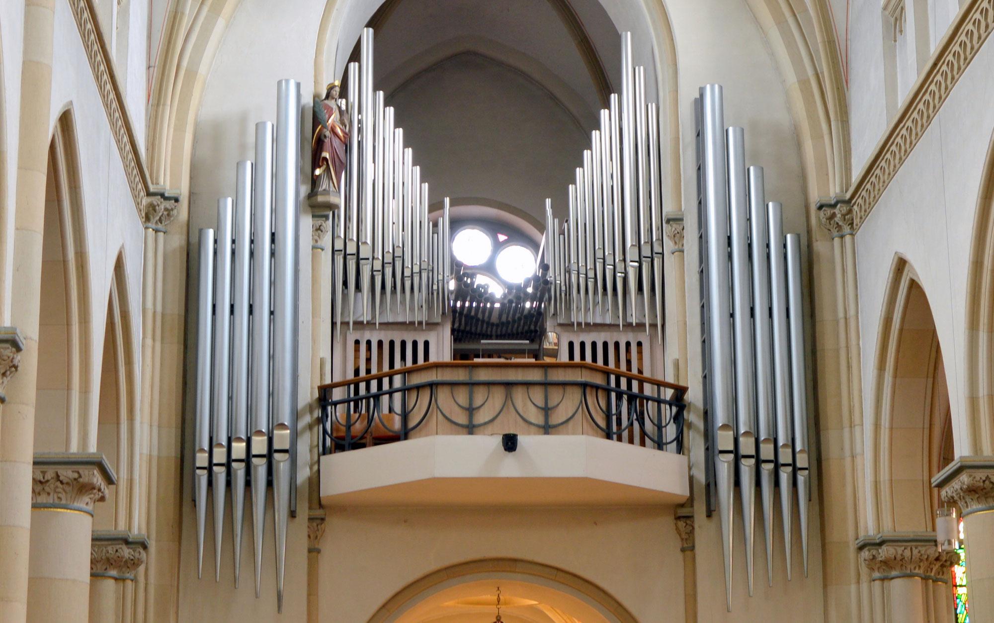 Zwei Orgeln in Mettingen