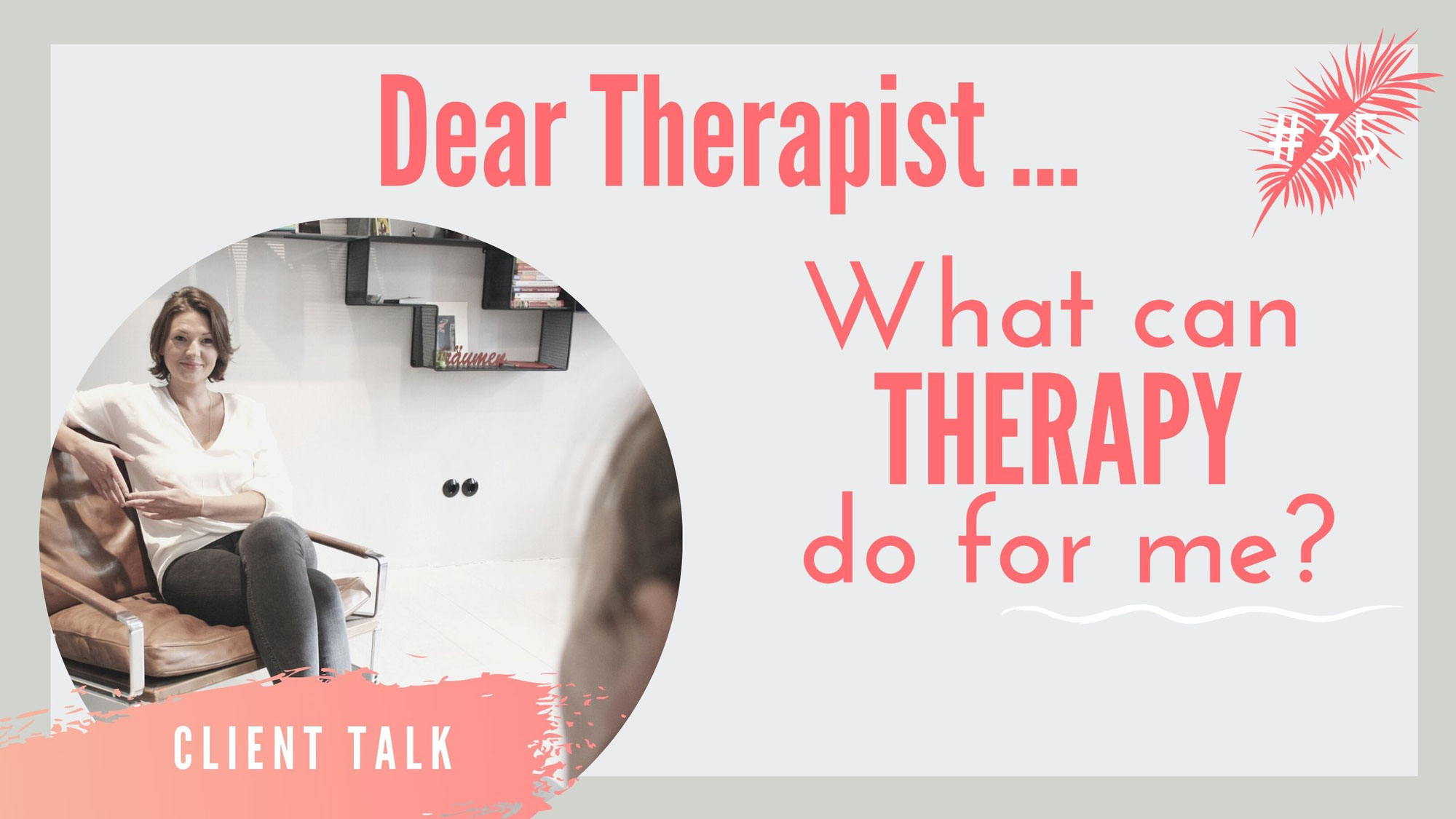 What can therapy do for you?