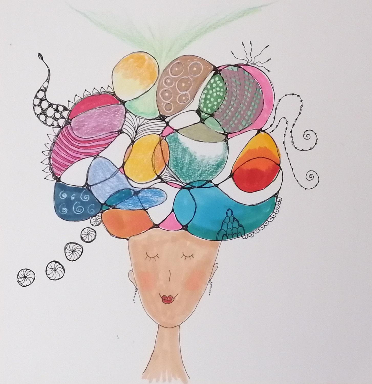 * Kopf-Frei-Malen * Lasse deiner Kreativität freien Lauf