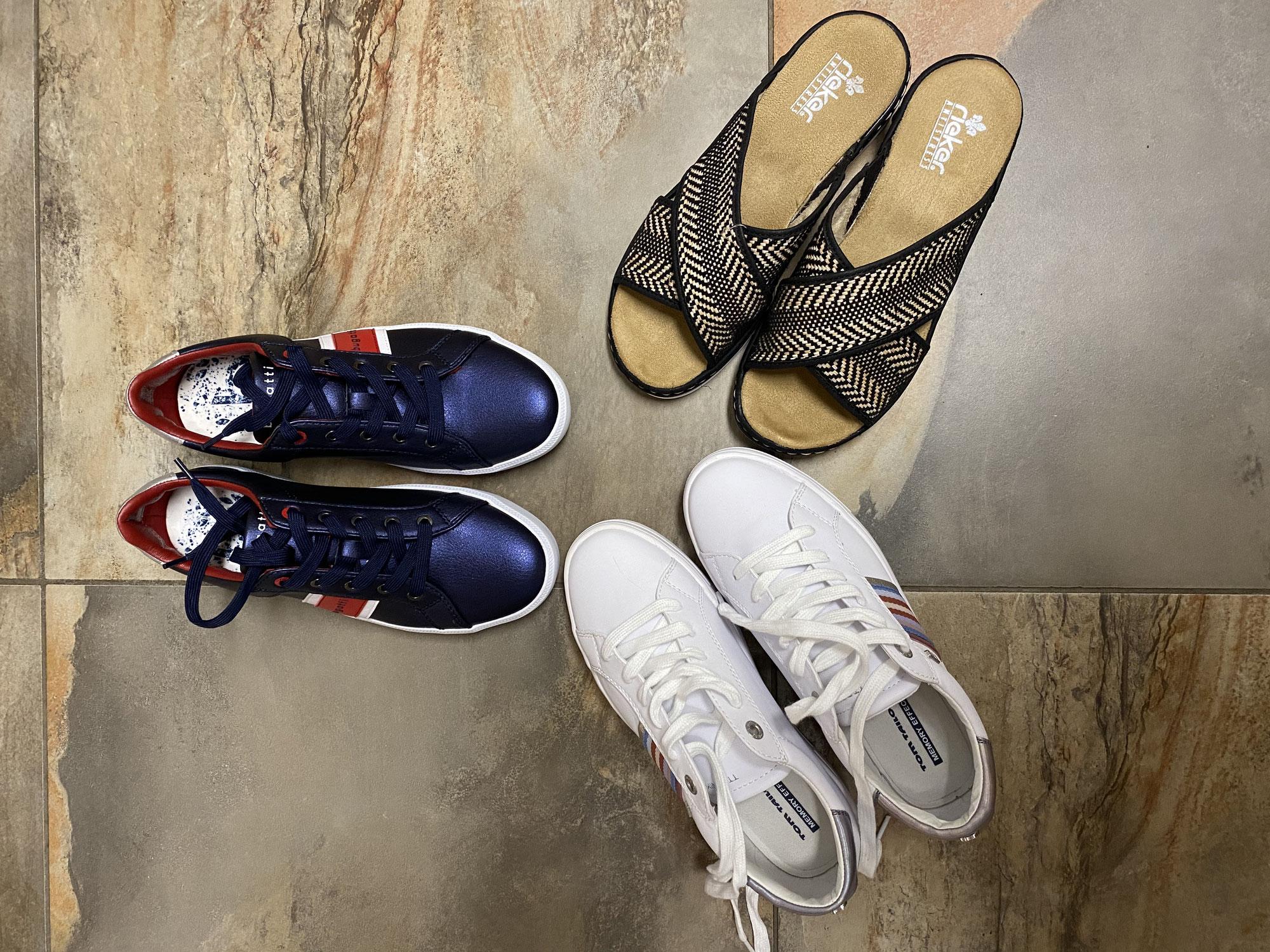 Schuhe -  damit deine neue Frühlingsgarderobe nicht zum Chaos wird