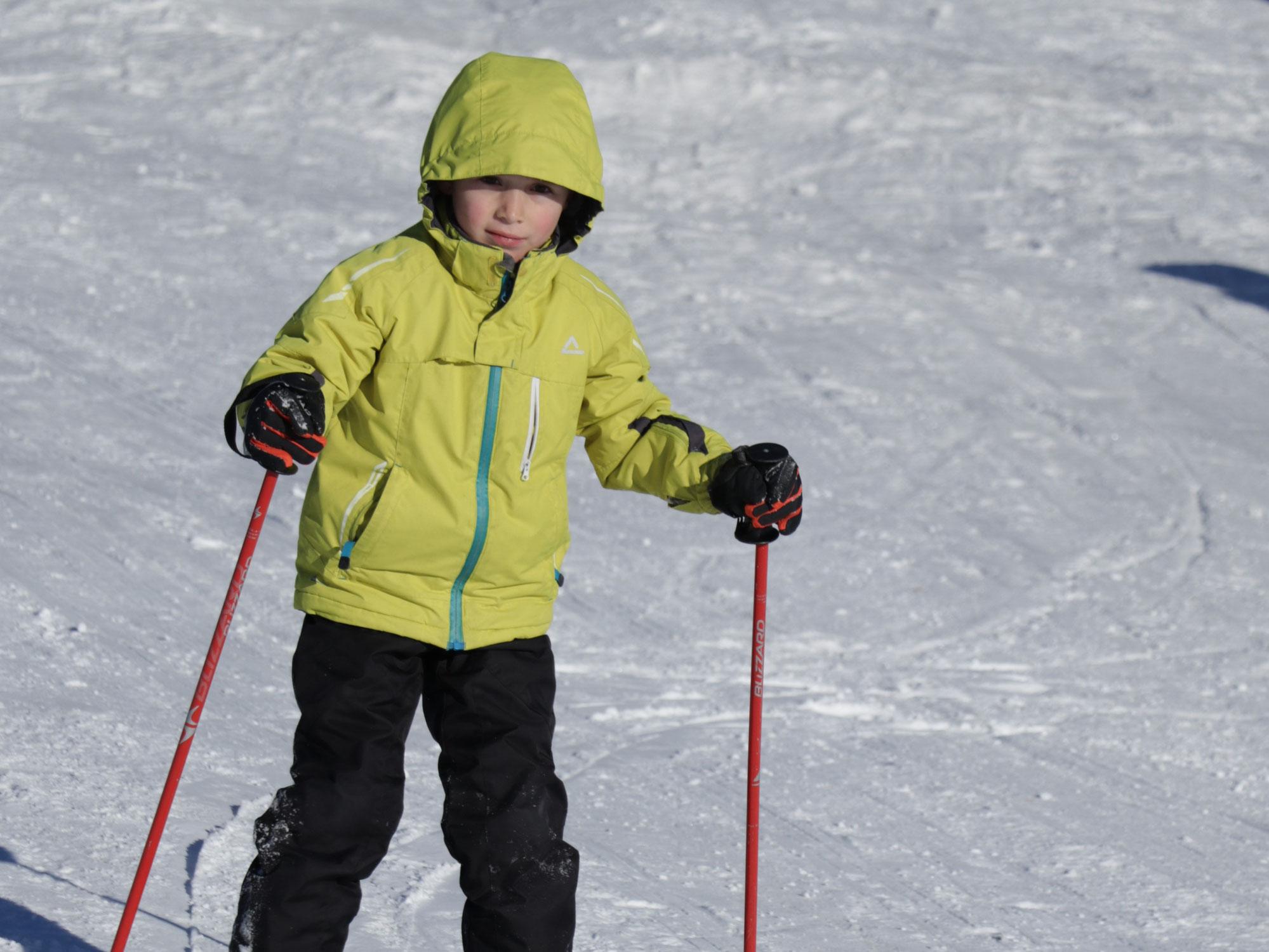 Wenn ein thurgauer Neffe in Jaun skifährt...