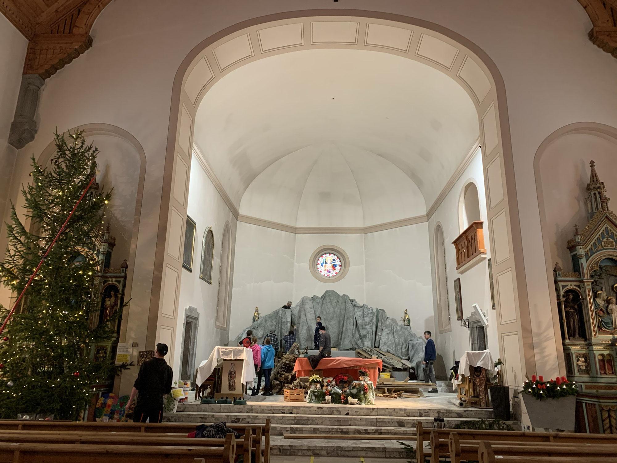 """Live"" aus der Kirche Jaun"