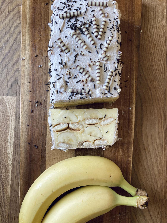 Bananenschnitte - ohne backen
