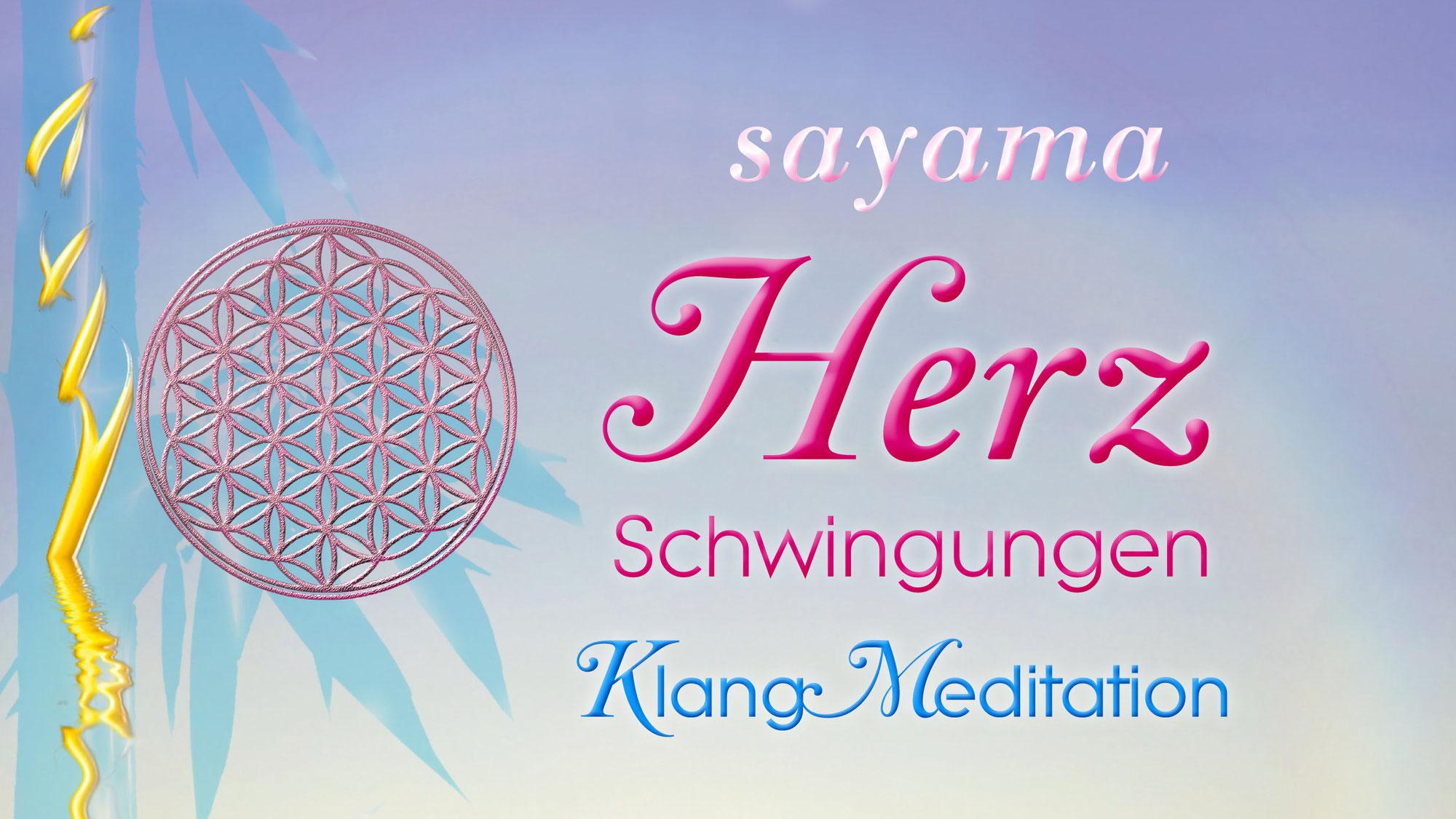 """Herzlich Willkommen zur """"Herz Schwingungen Klang~Meditation"""""""