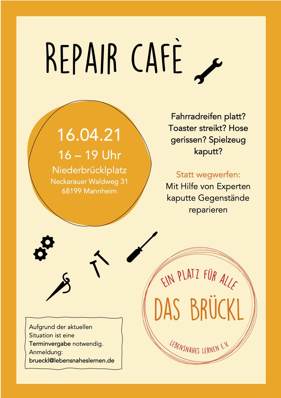 Erstes Repair Café am 16.04.