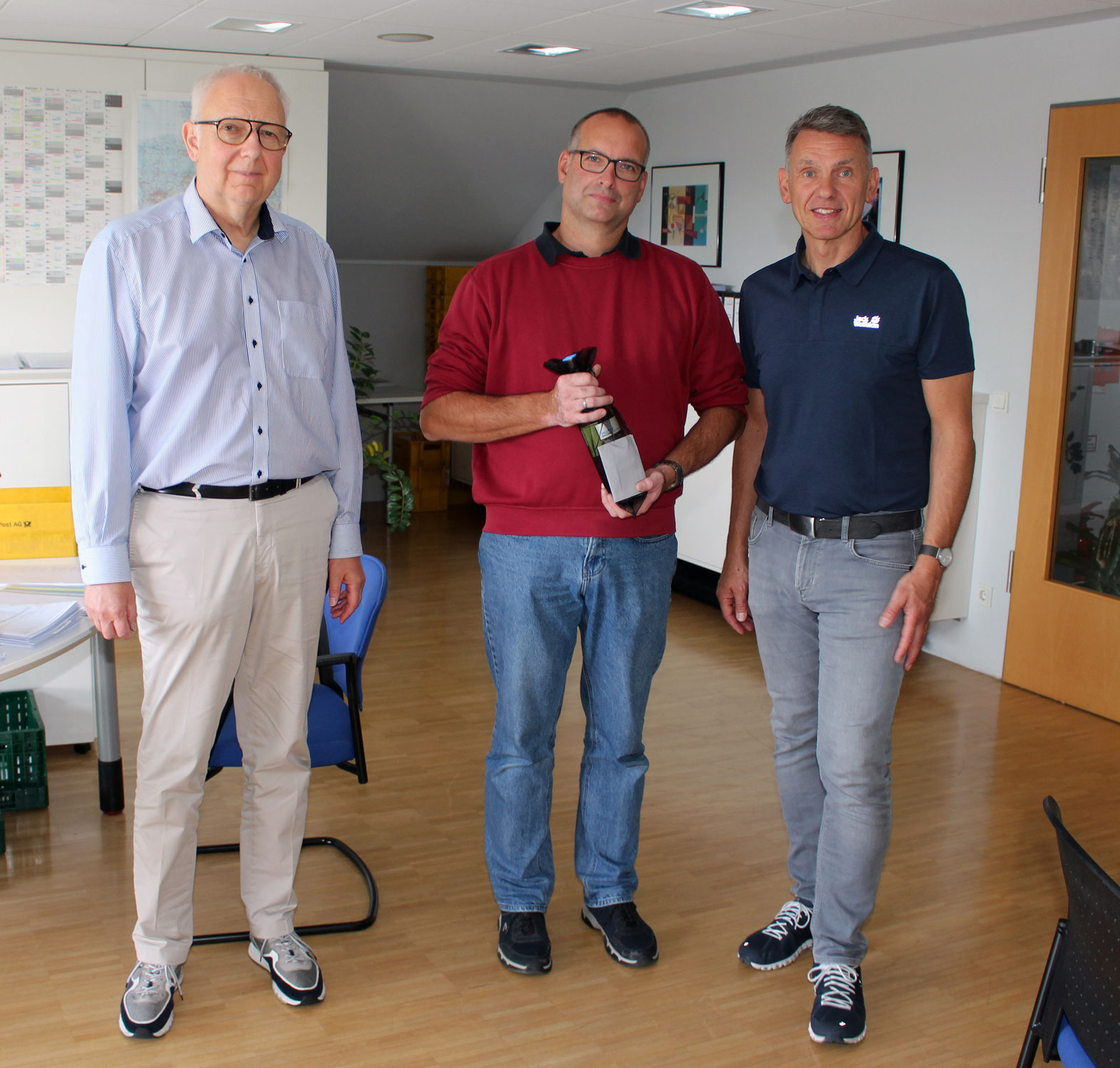 Holzfachschul-Dozent Carsten Fritzsching 50 Jahre jung