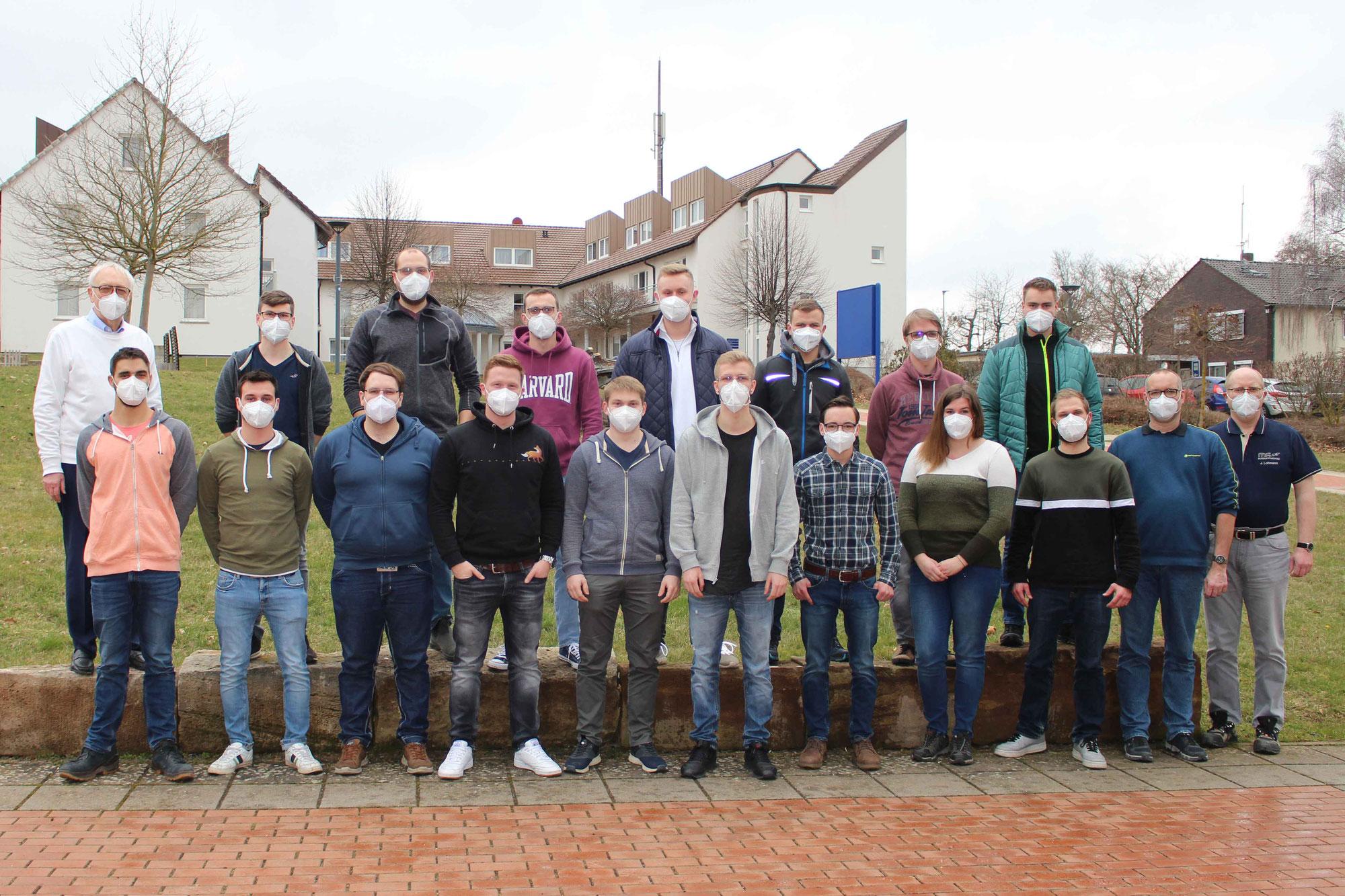 Modellbaumeister-Lehrgang startet mit 16 Schülerinnen und Schülern
