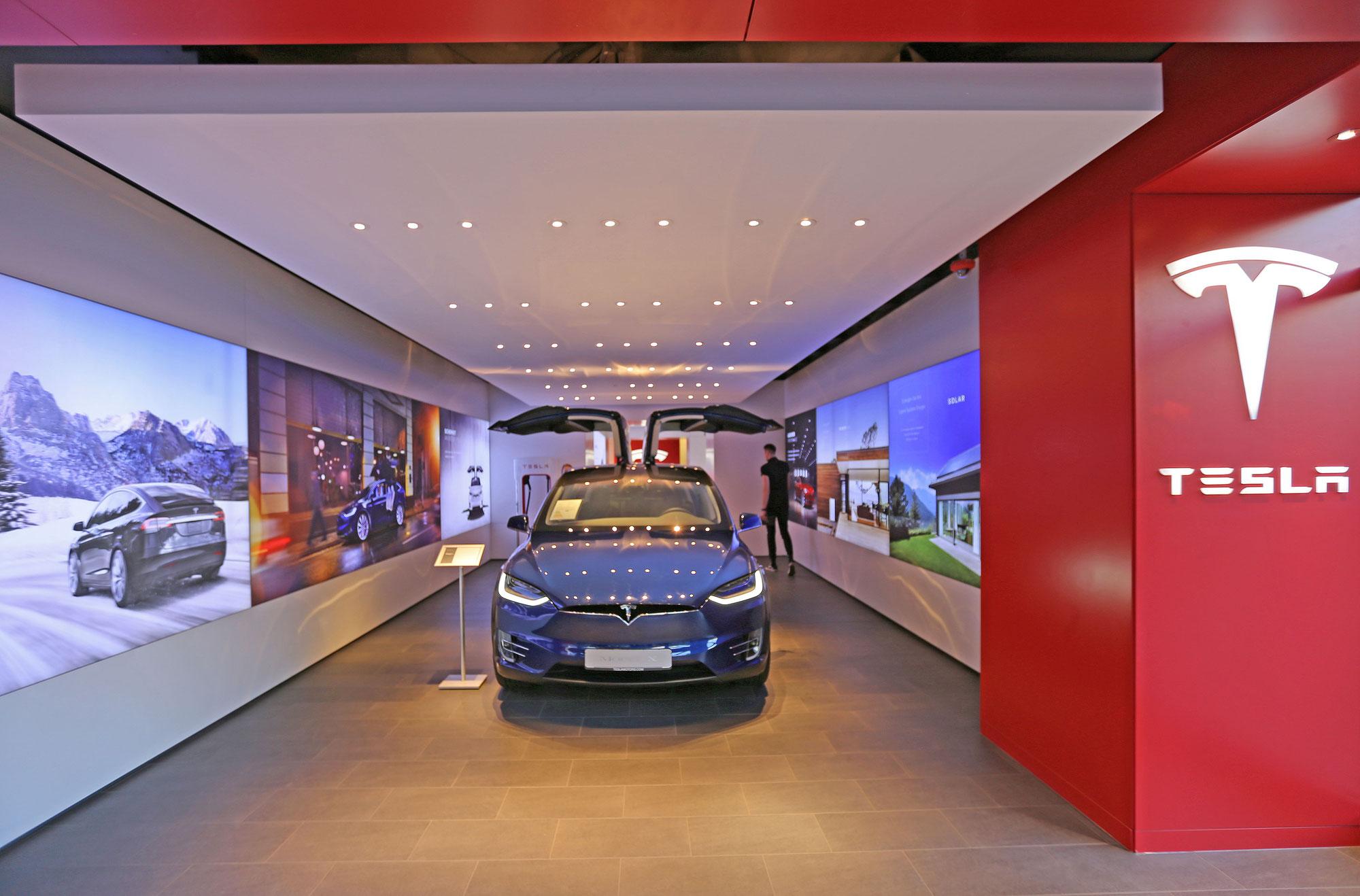 Tesla - Store