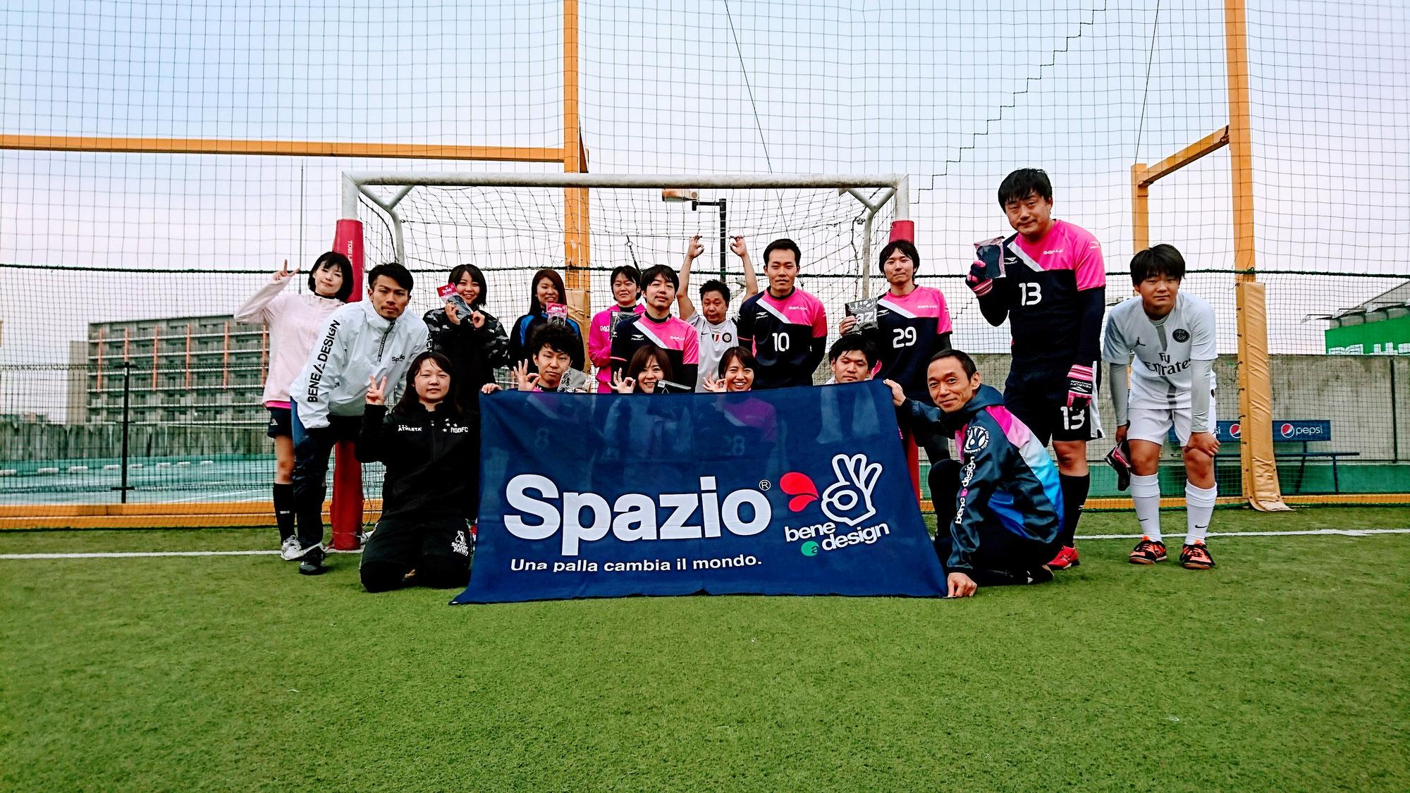 12/22Spazio×太見寿人フットサルクリニック、 Spazio CUP エンジョイフットサル大会レポート