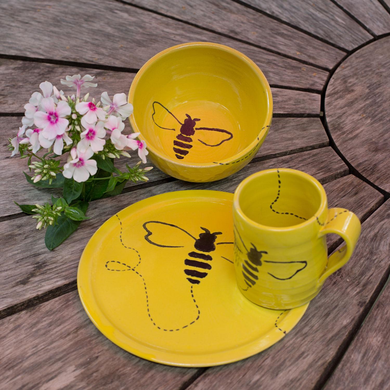Buzzing Pottery - Guten Morgen Honey Keramikgeschirr