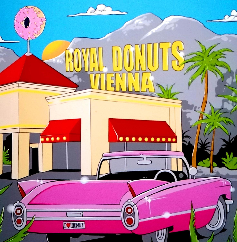 Royal Donut eröffnet mit frischer Wandgestaltung