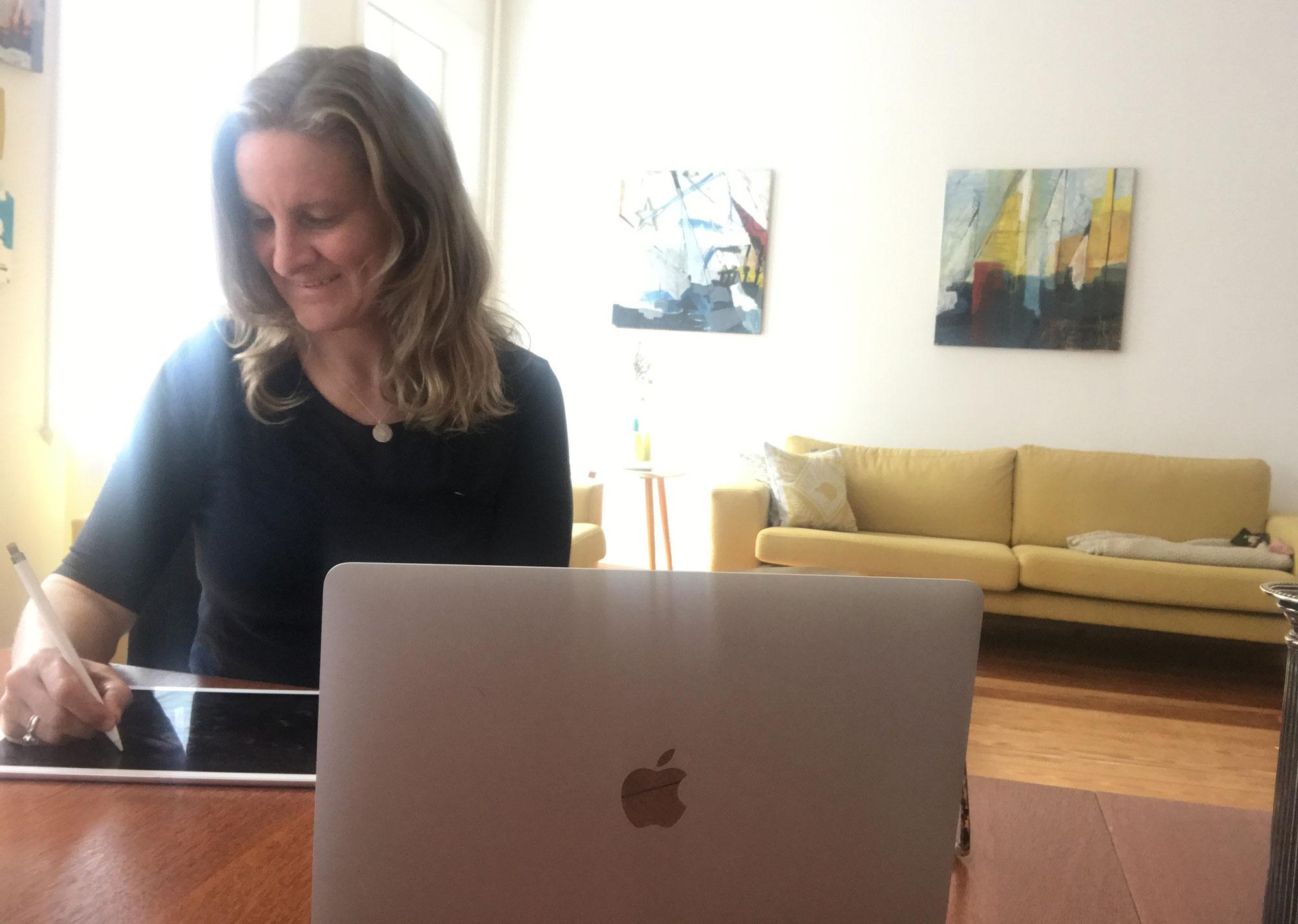 Live-Visualisierung in Online Meetings