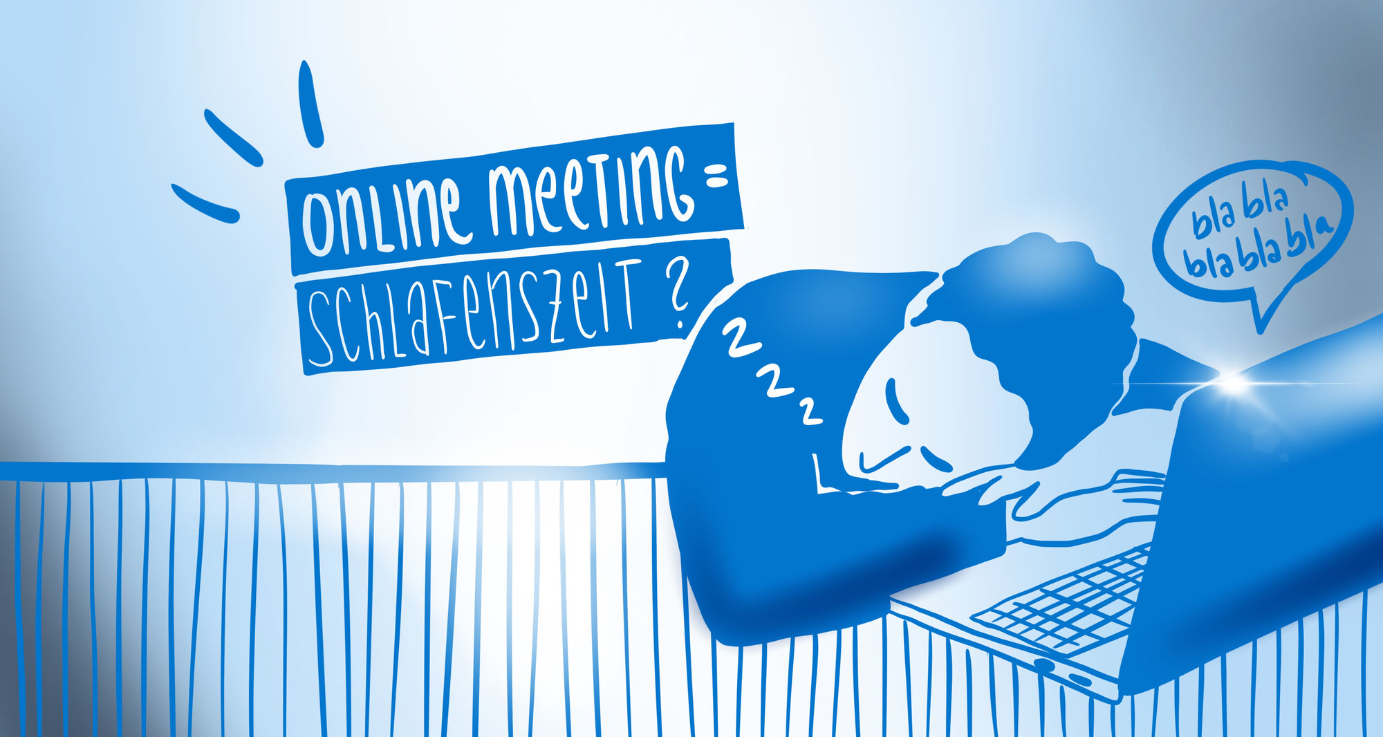 HALLO WACH! Visualisierungen im Online Meeting.
