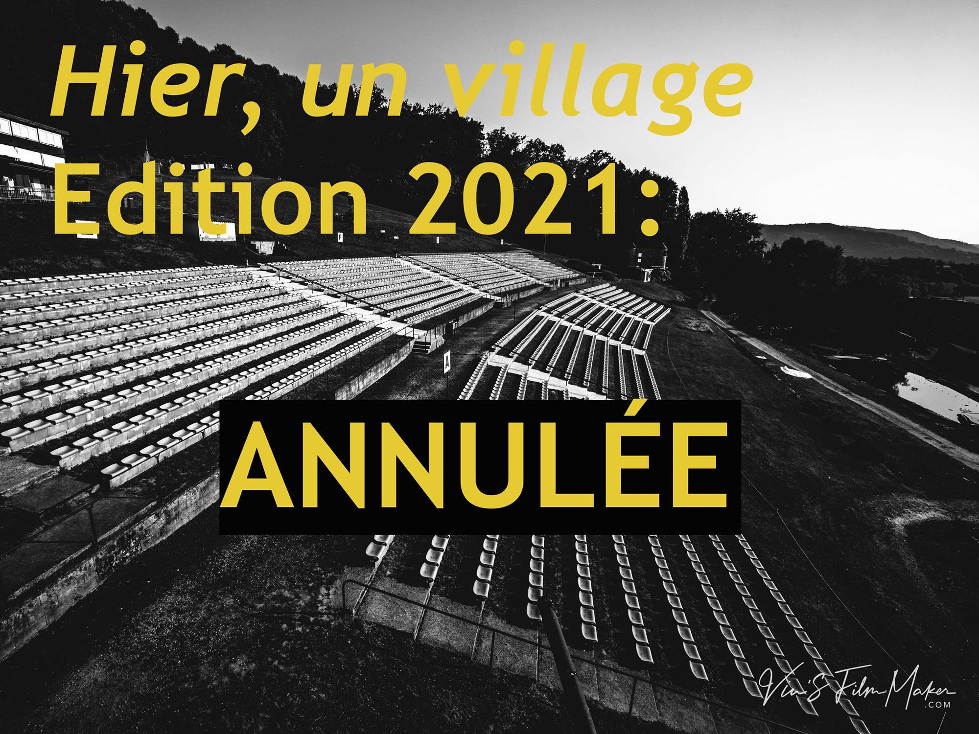 """Spectacle """"Hier un Village"""""""
