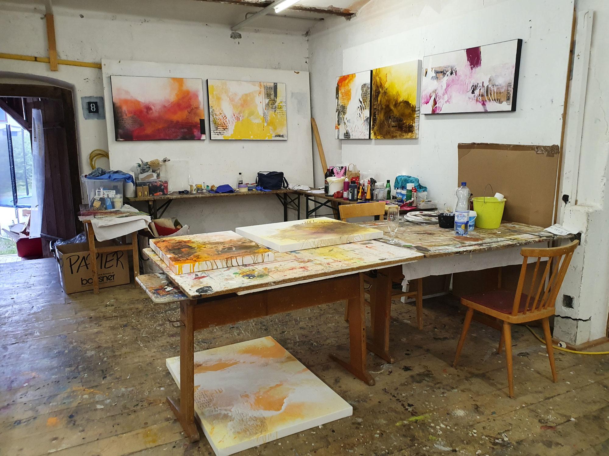 Atelier in Sicht