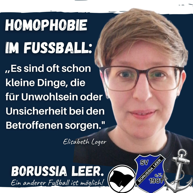 Interview mit Elisabeth Loger: Homophobie im Fußball