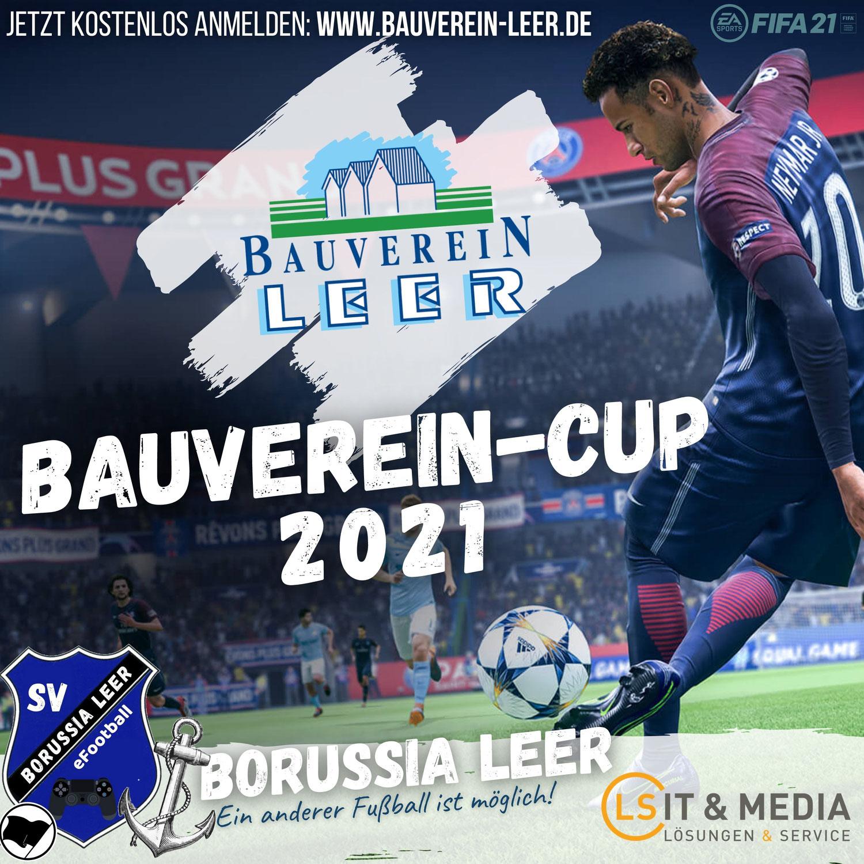BAUVEREIN-CUP des SV Borussia Leer startet: Jetzt anmelden!