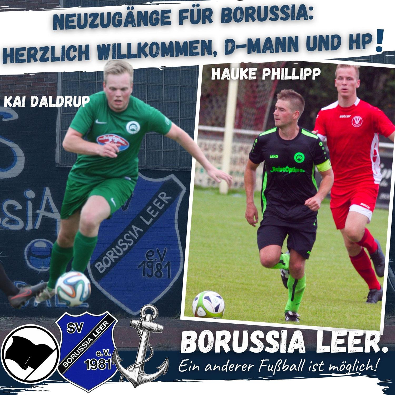 Transferhammer: Hauke Phillipp und Kai Daldrup wechseln zu Borussia!