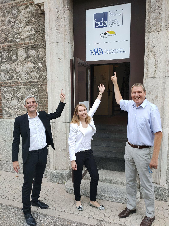 Visita de la nueva Jefa de Cultura de la Embajada Alemana en España